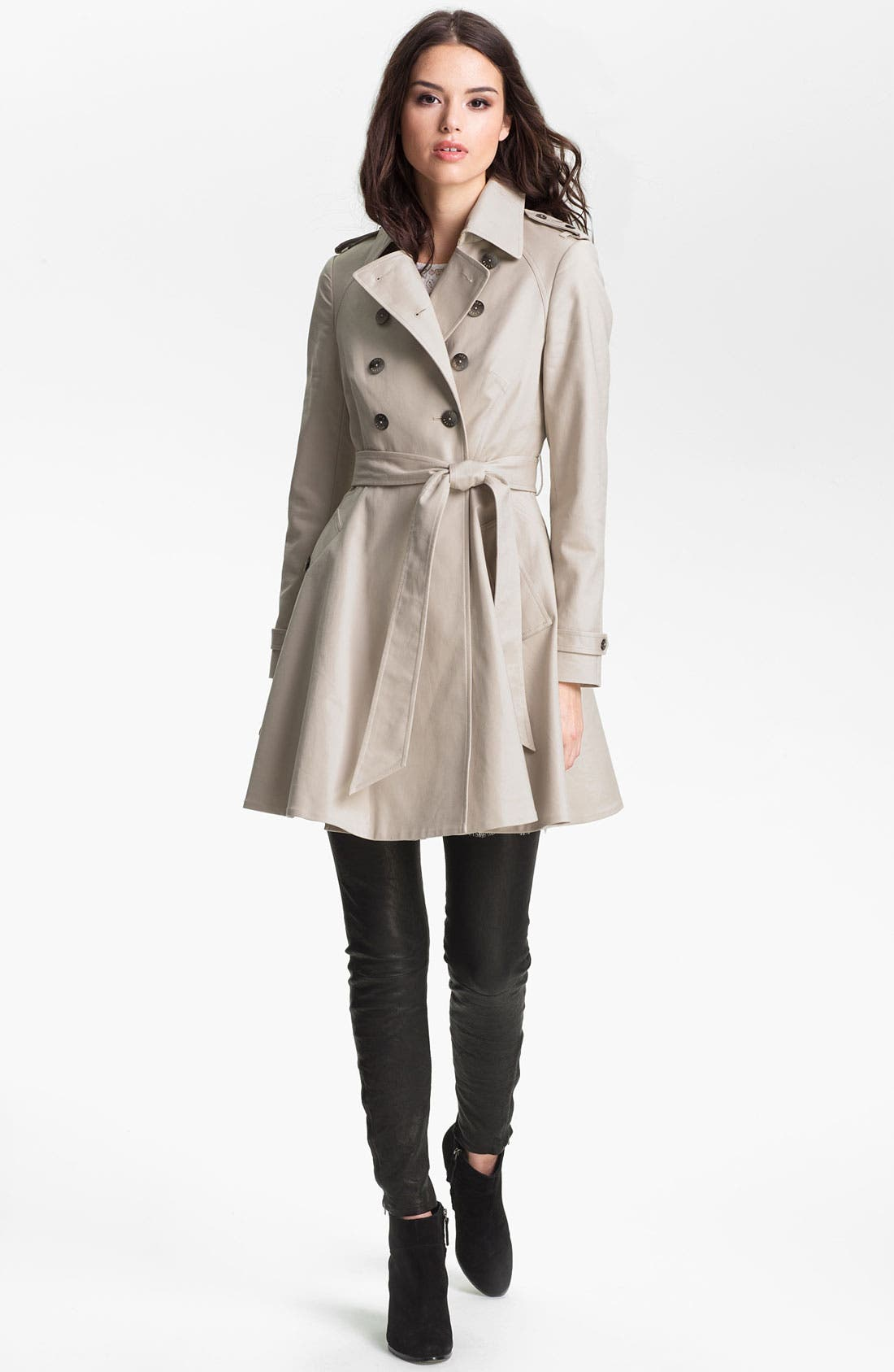Alternate Image 1 Selected - Ted Baker London Double Breasted Trench Coat