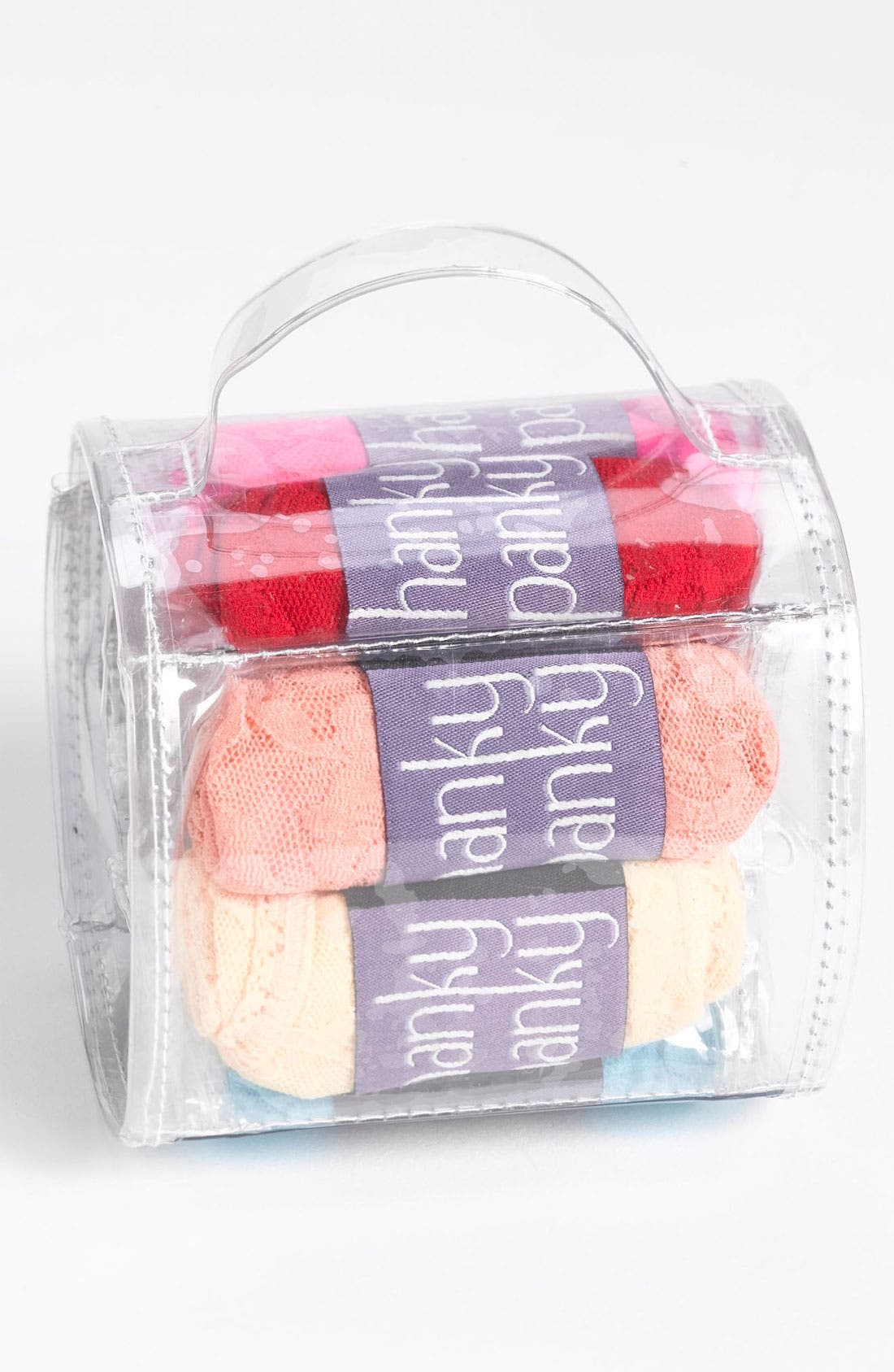 Alternate Image 1 Selected - Hanky Panky Regular Rise Thong (8-Pack)