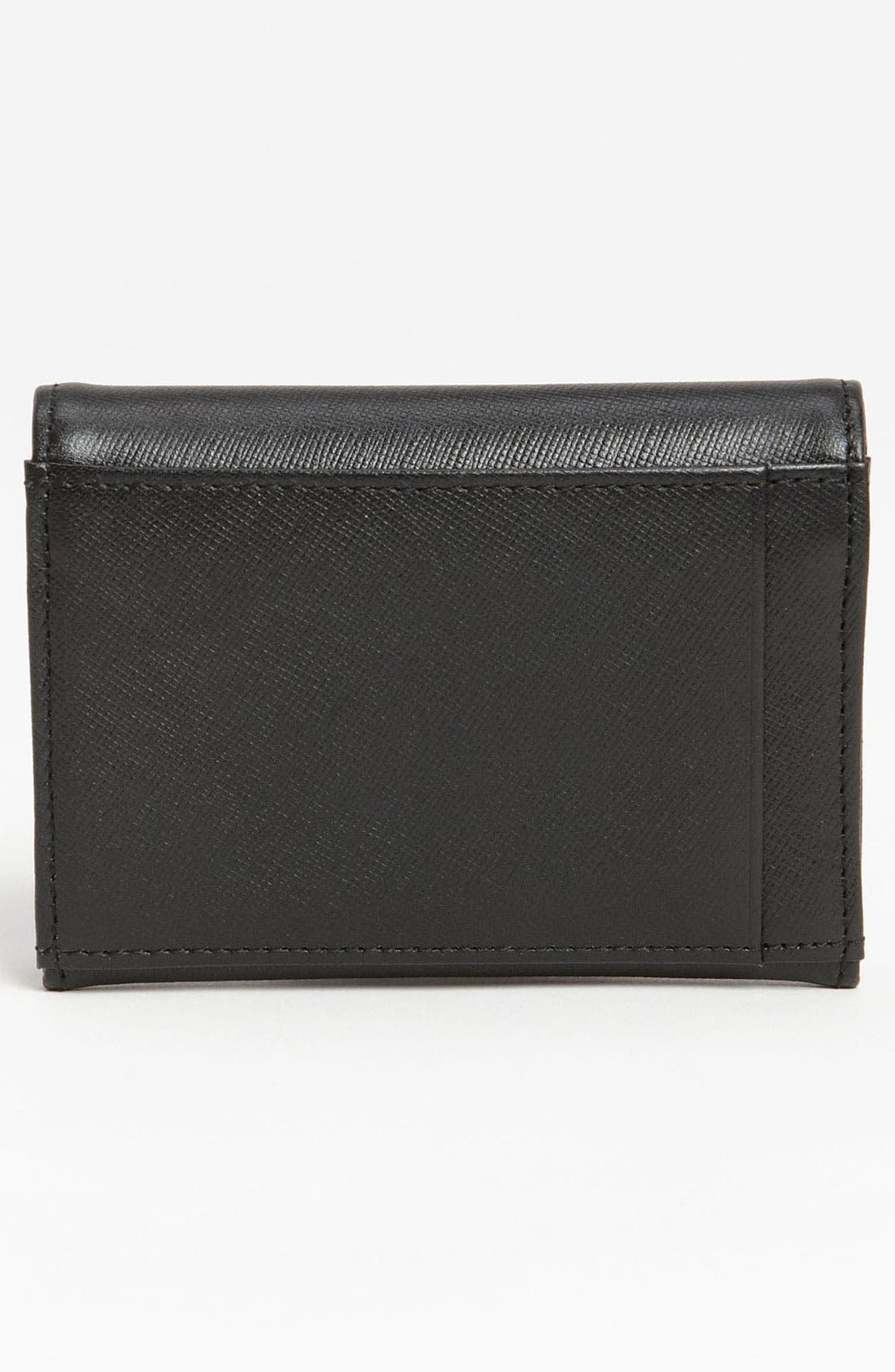 Alternate Image 4  - Halogen® 'Emily' Leather Key Clip Wallet