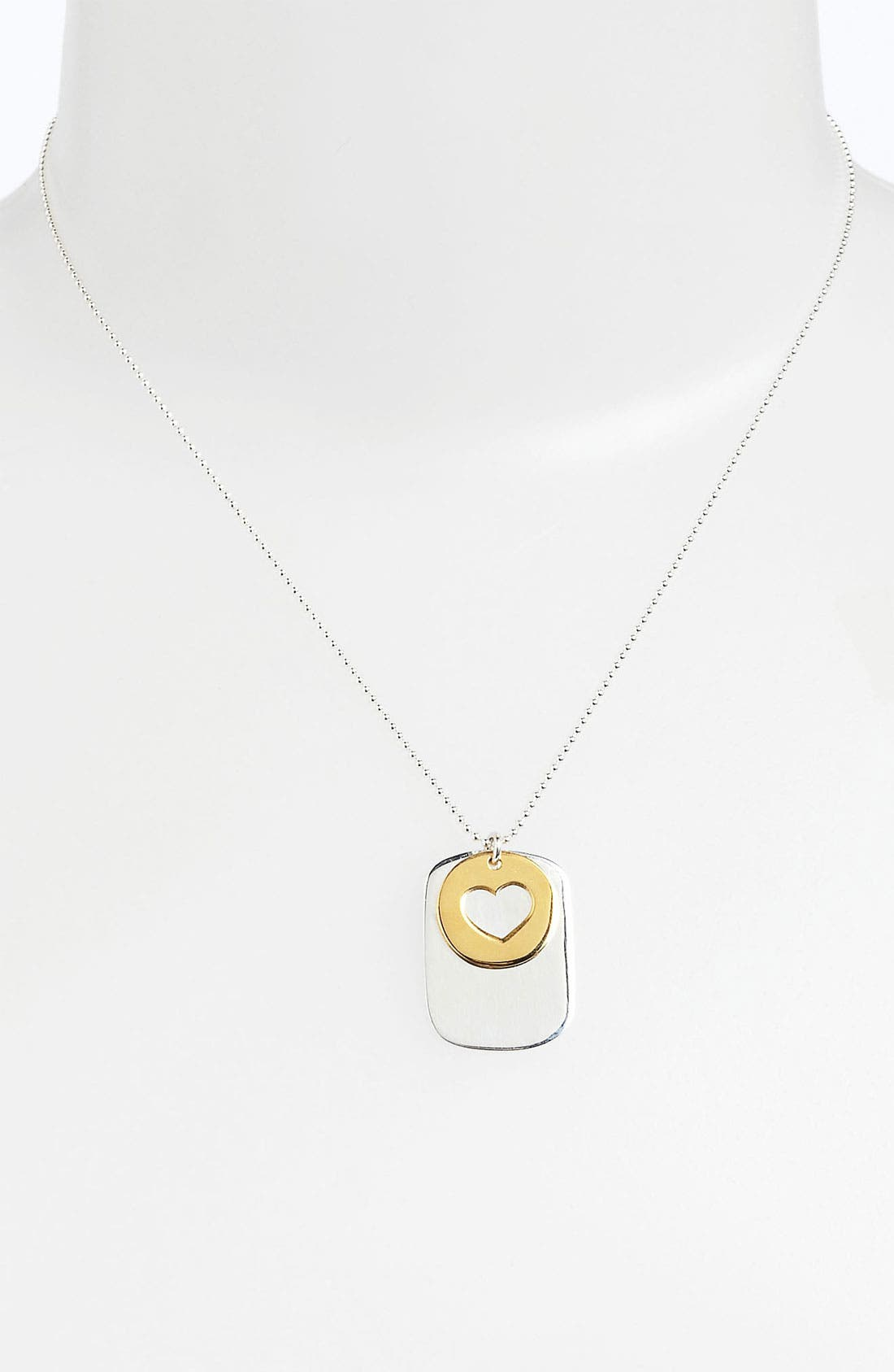 Alternate Image 2  - Argento Vivo 'Love' Pendant Necklace (Nordstrom Exclusive)