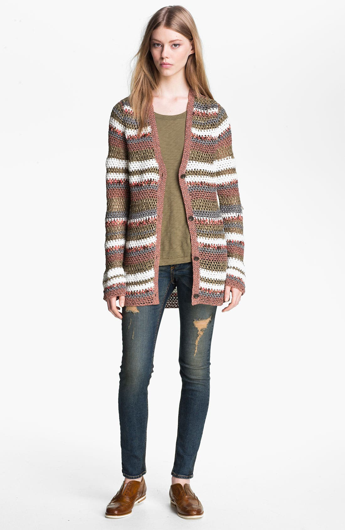 Alternate Image 1 Selected - rag & bone 'Astrid' Cardigan