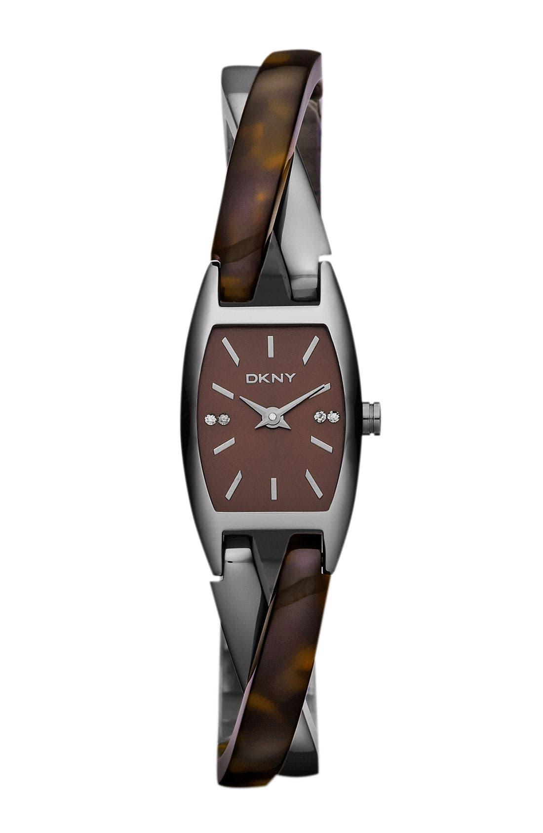 Main Image - DKNY Crossover Bangle Watch