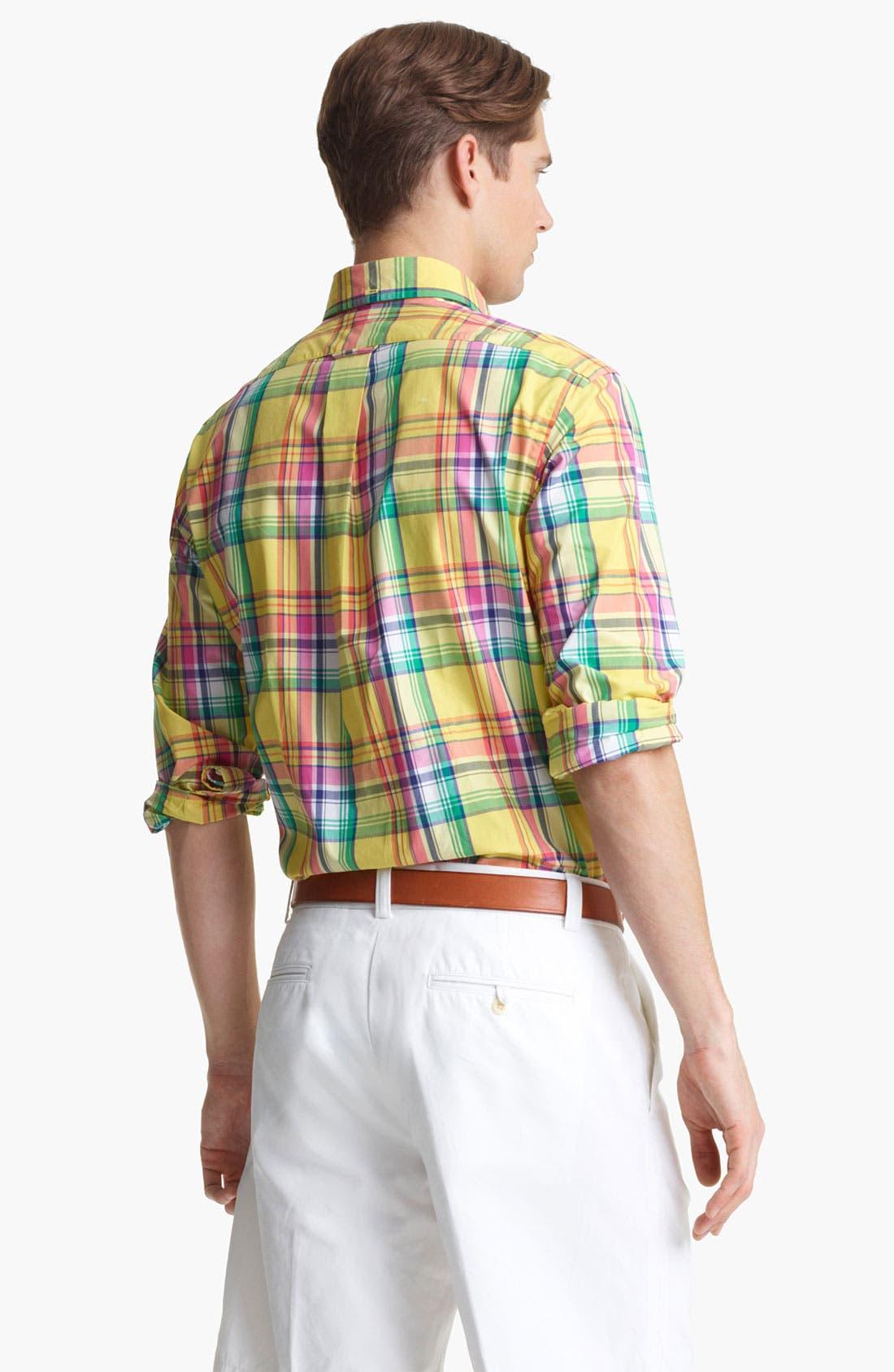 Alternate Image 2  - Polo Ralph Lauren Classic Fit Sport Shirt