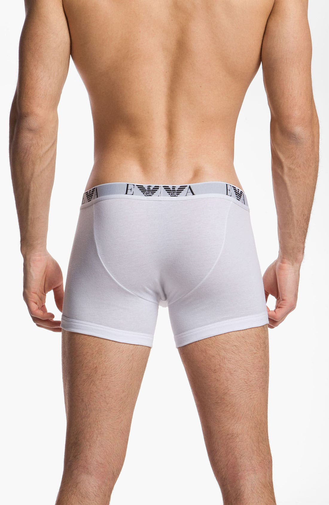 Alternate Image 2  - Emporio Armani 3-Pack Boxer Briefs