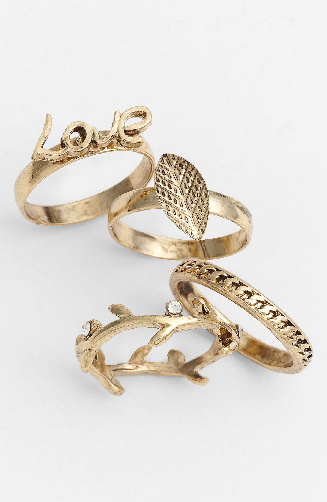 Main Image - Carole Stackable Ring Set (Online Exclusive)