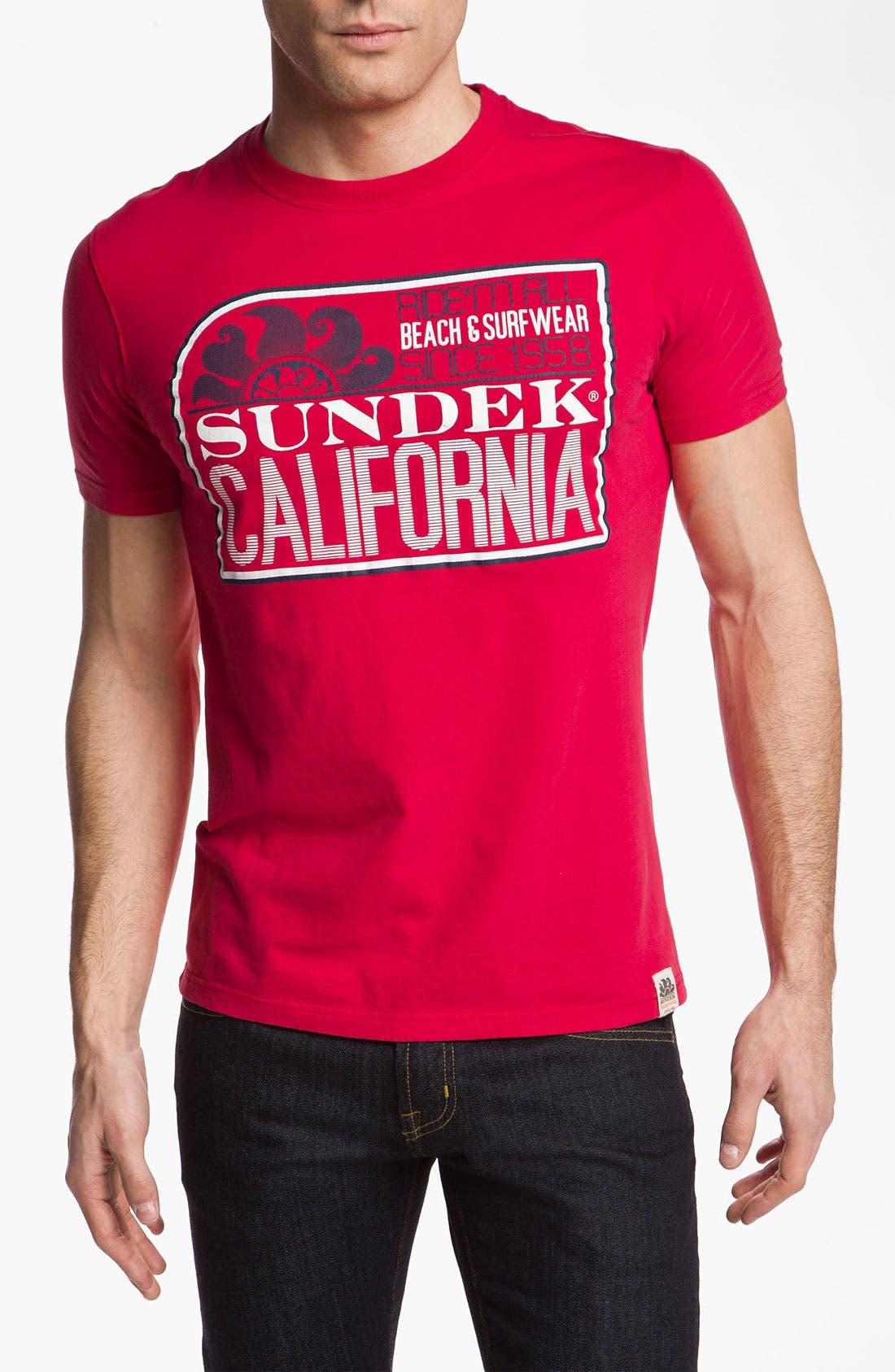 Alternate Image 1 Selected - Sundek 'California' T-Shirt (Online Only)