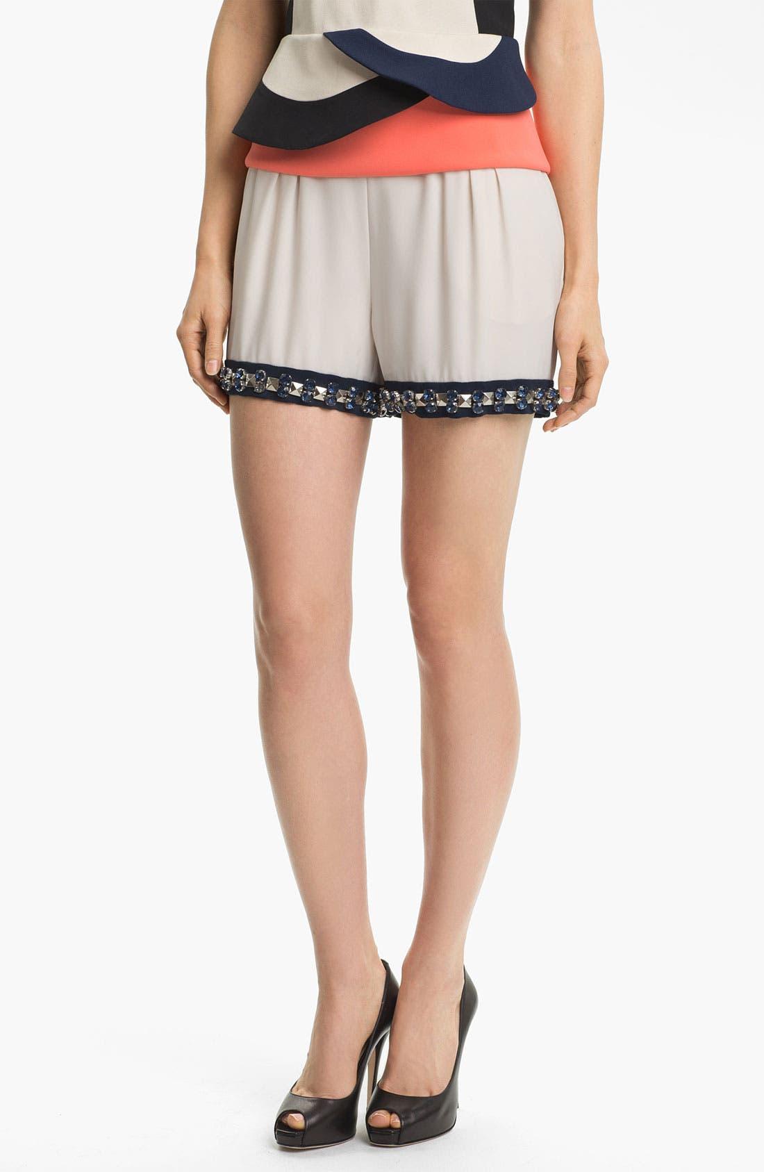 Main Image - Diane von Furstenberg 'Atty' Embellished Shorts