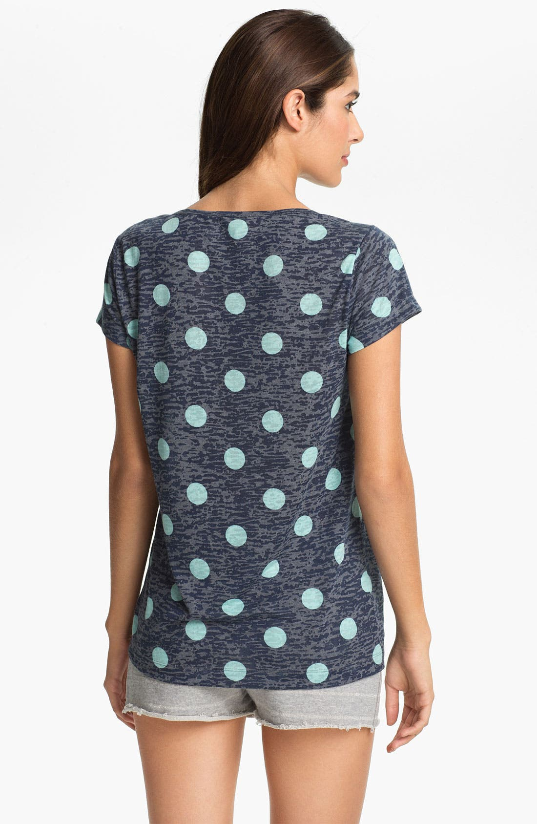 Alternate Image 2  - Two by Vince Camuto Cap Sleeve Pocket Tee
