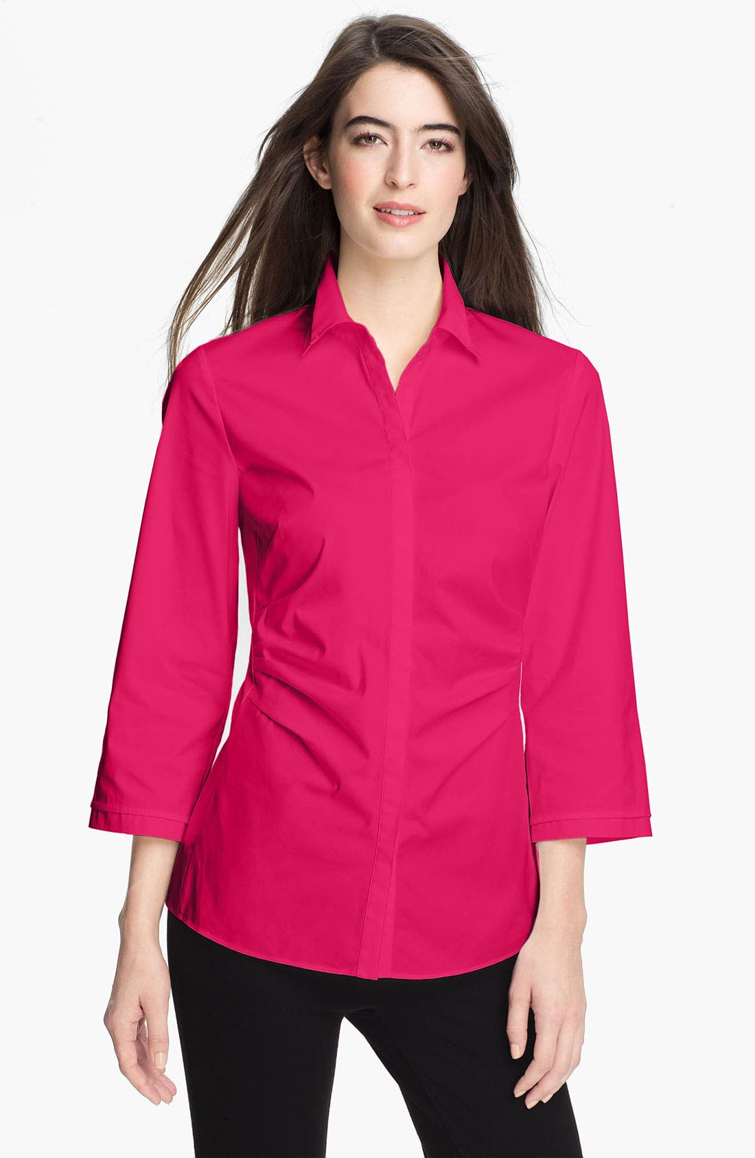Main Image - Lafayette 148 New York 'Leigh' Blouse (Online Only)