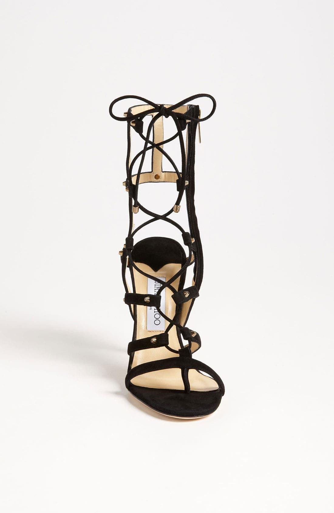 Alternate Image 3  - Jimmy Choo 'Meddle' Caged Sandal