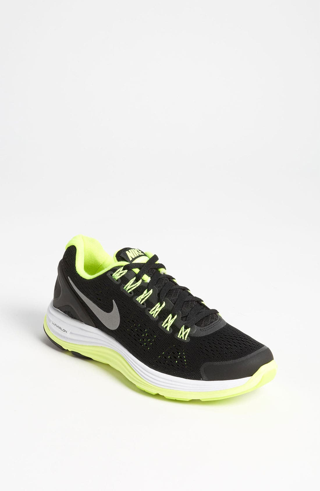 Alternate Image 1 Selected - Nike 'LunarGlide 4' Running Shoe (Big Kid)