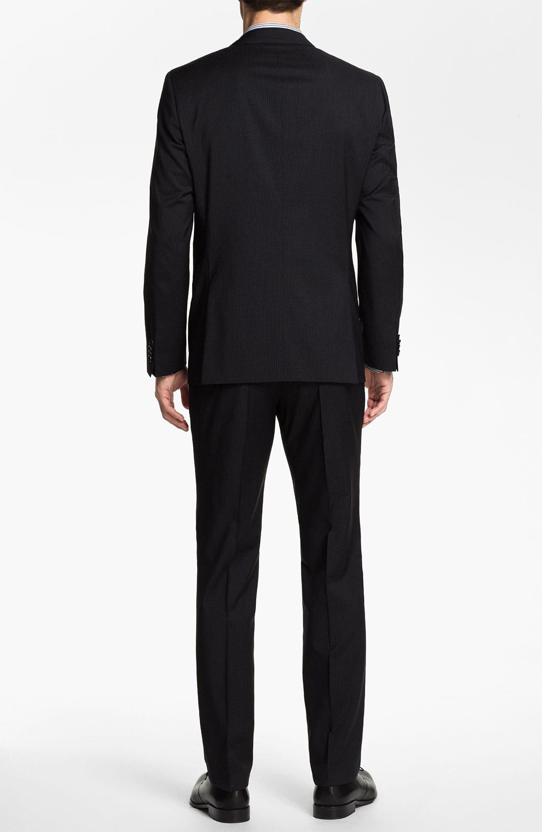 Alternate Image 3  - BOSS Black 'Huge/Genius' Trim Fit Suit