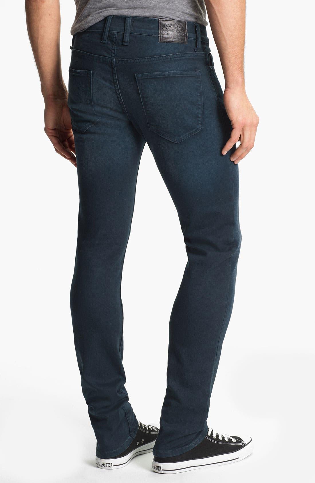 Alternate Image 1 Selected - Kill City 'Wire' Slim Skinny Leg Jeans (Navy)