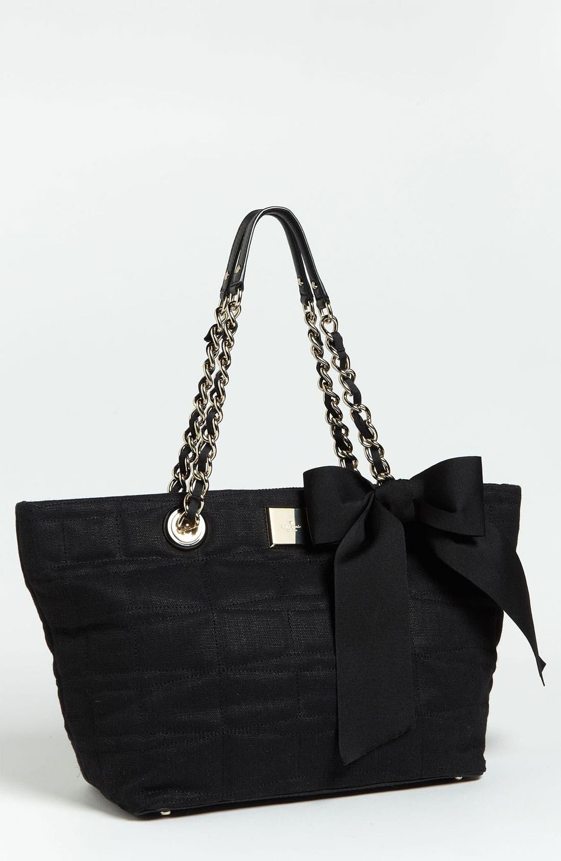 Alternate Image 1 Selected - kate spade new york 'signature spade - small coal' shoulder bag