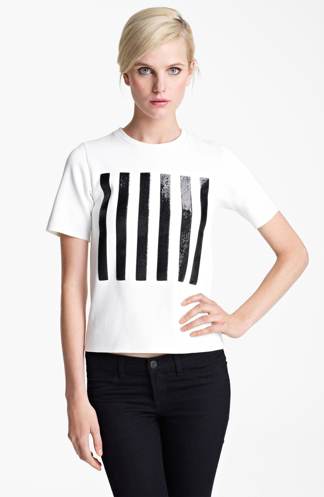 Alternate Image 1 Selected - MARC JACOBS Stripe Tee