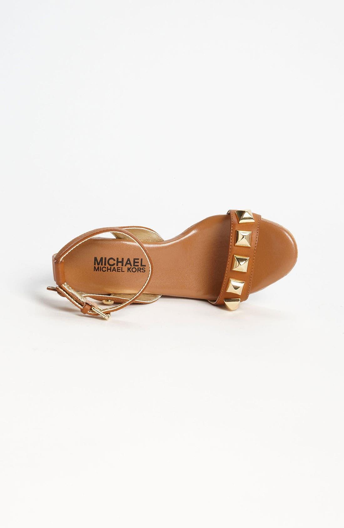 Alternate Image 3  - MICHAEL Michael Kors 'Jalita' Wedge Sandal (Little Kid & Big Kid)