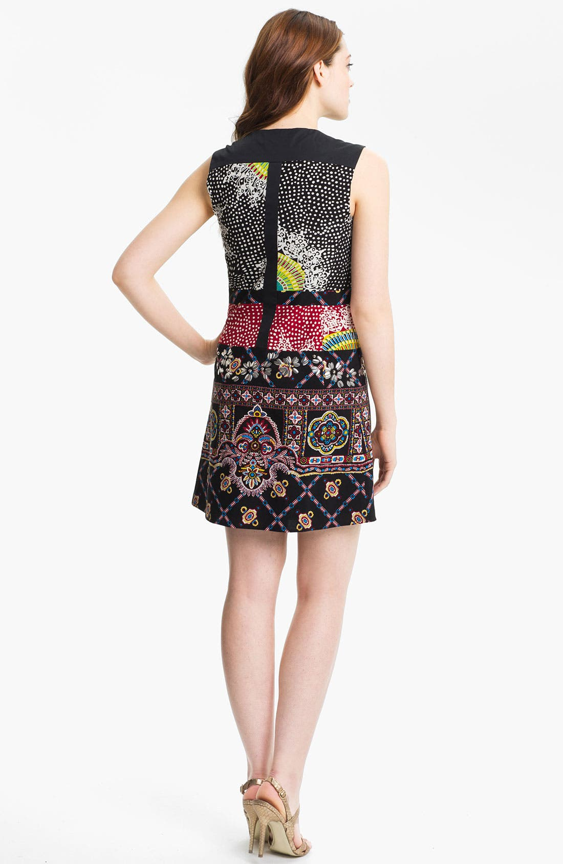 Alternate Image 2  - Nanette Lepore 'Rodeo' Embellished Shift Dress