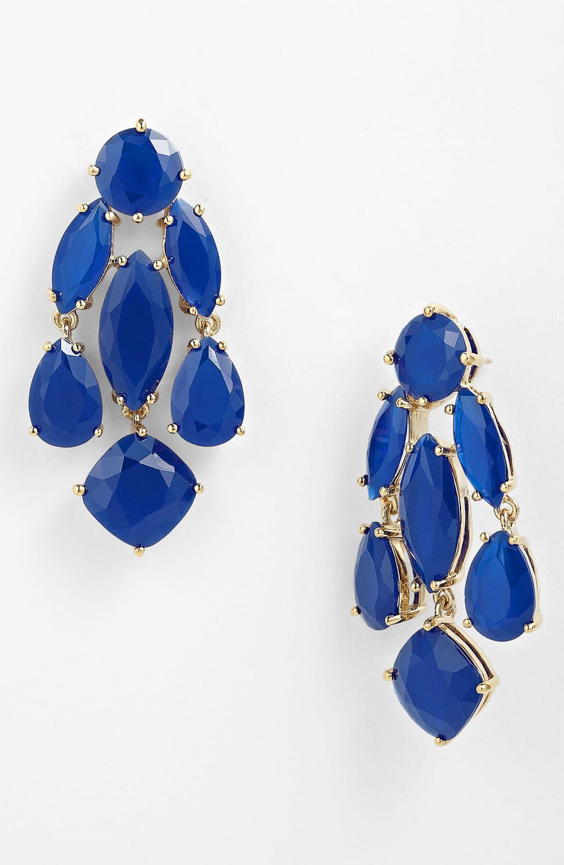 Alternate Image 1 Selected - kate spade new york statement chandelier earrings