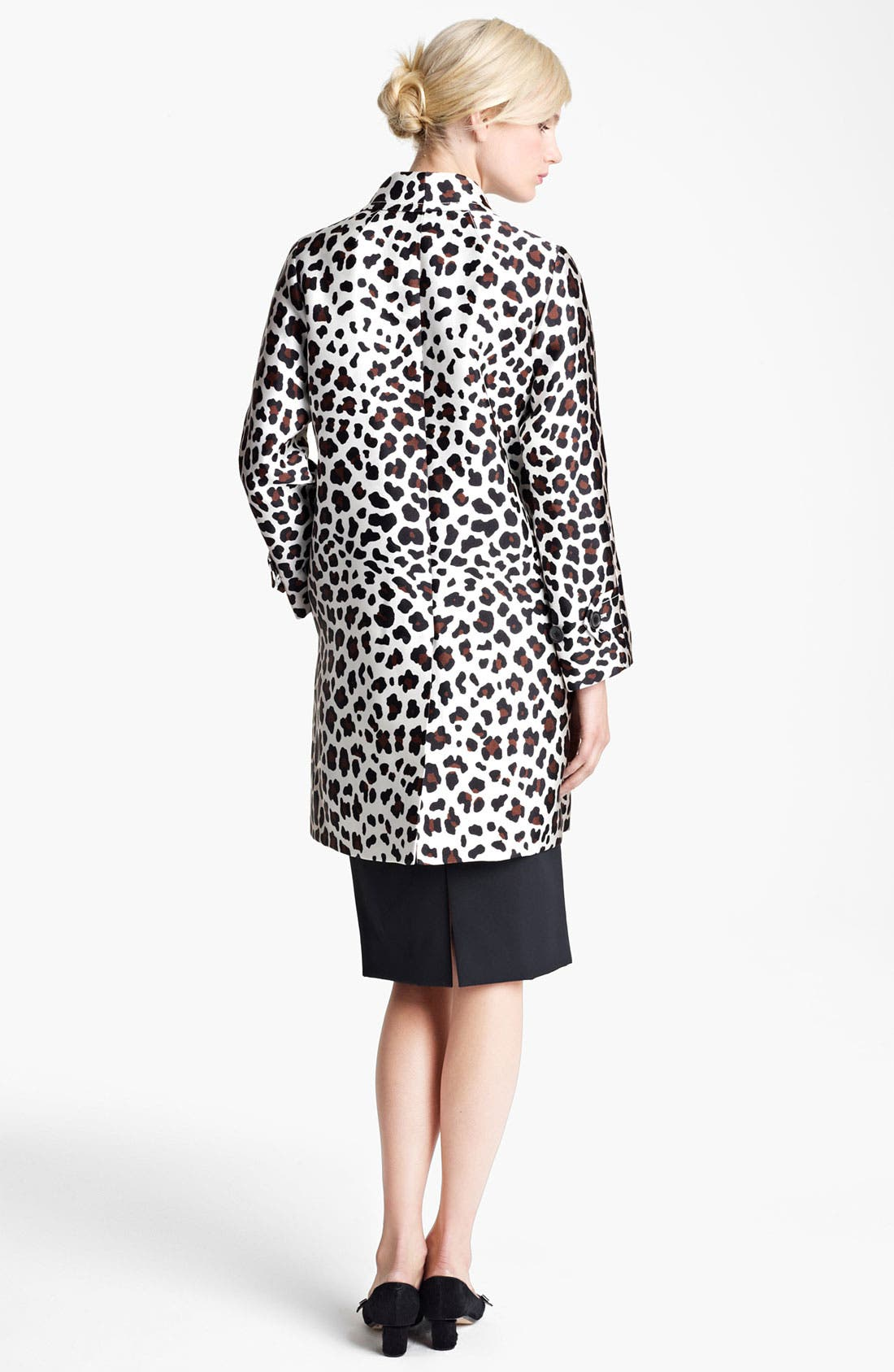 Alternate Image 2  - MARC JACOBS Leopard Print Coat