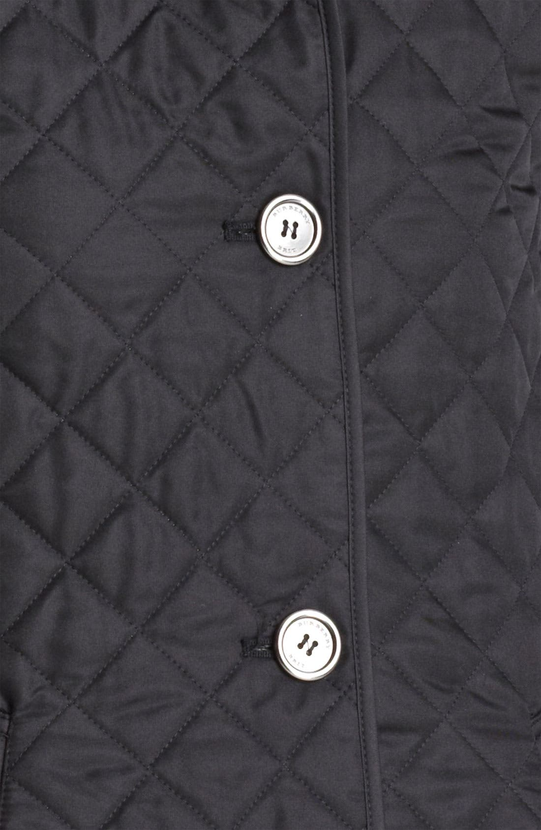 Alternate Image 3  - Burberry Brit 'Copford' Quilted Jacket