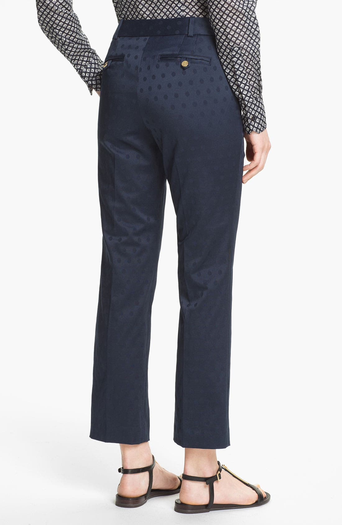Alternate Image 2  - Tory Burch 'Harp' Jacquard Pants
