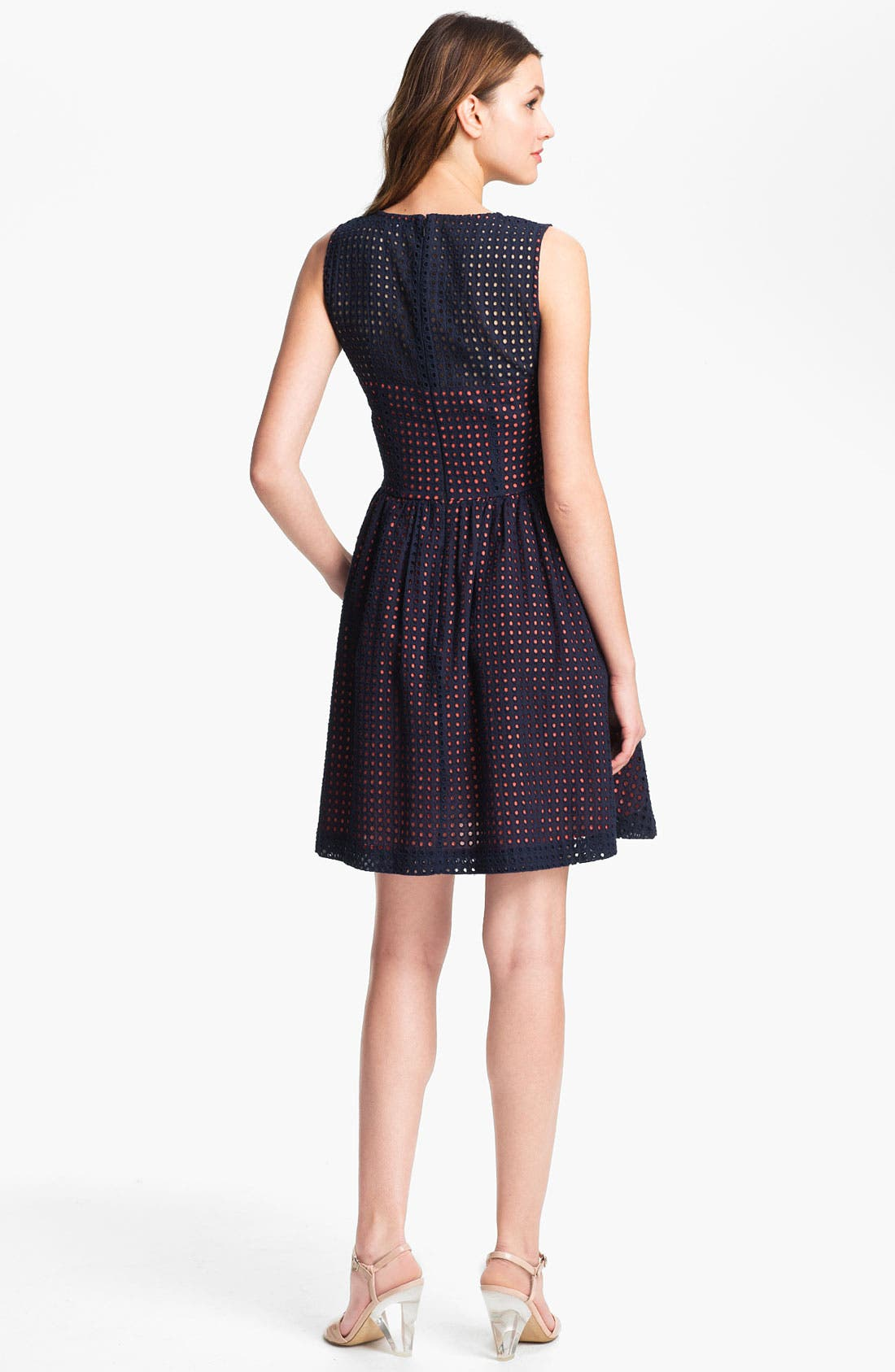 Alternate Image 2  - French Connection Dot Fit & Flare Dress
