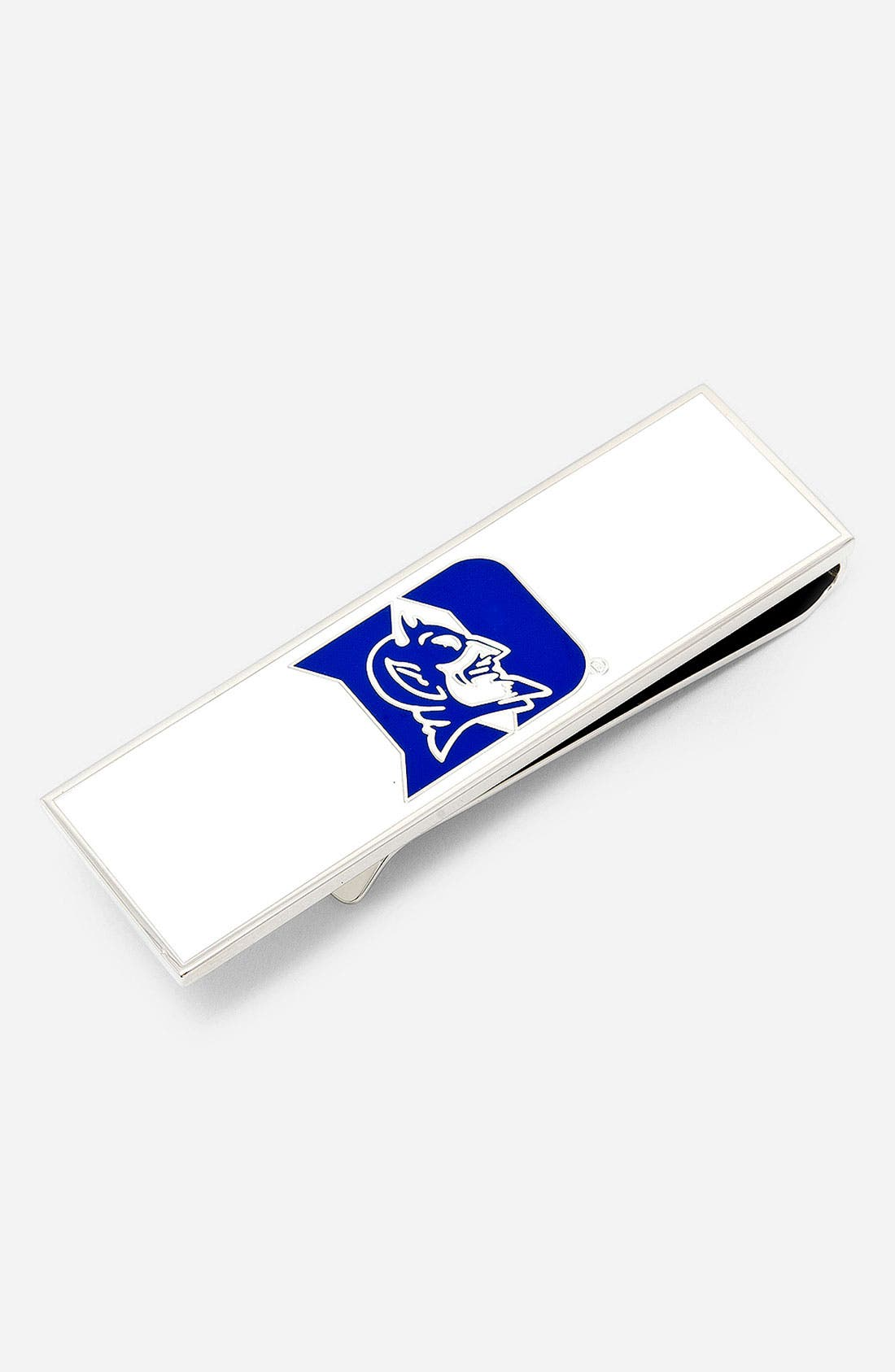 Main Image - Cufflinks, Inc. 'Duke Blue Devils' Money Clip