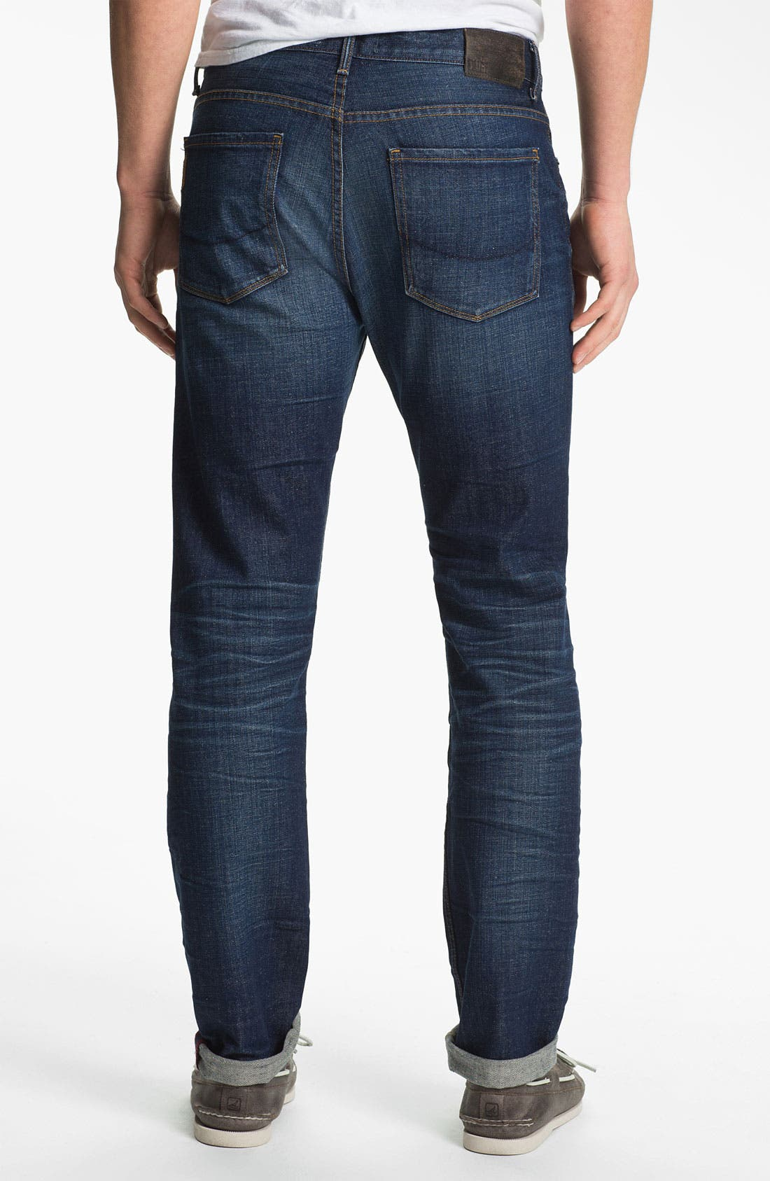 Alternate Image 1 Selected - PAIGE 'Federal' Slim Straight Leg Jeans (Shoreman)