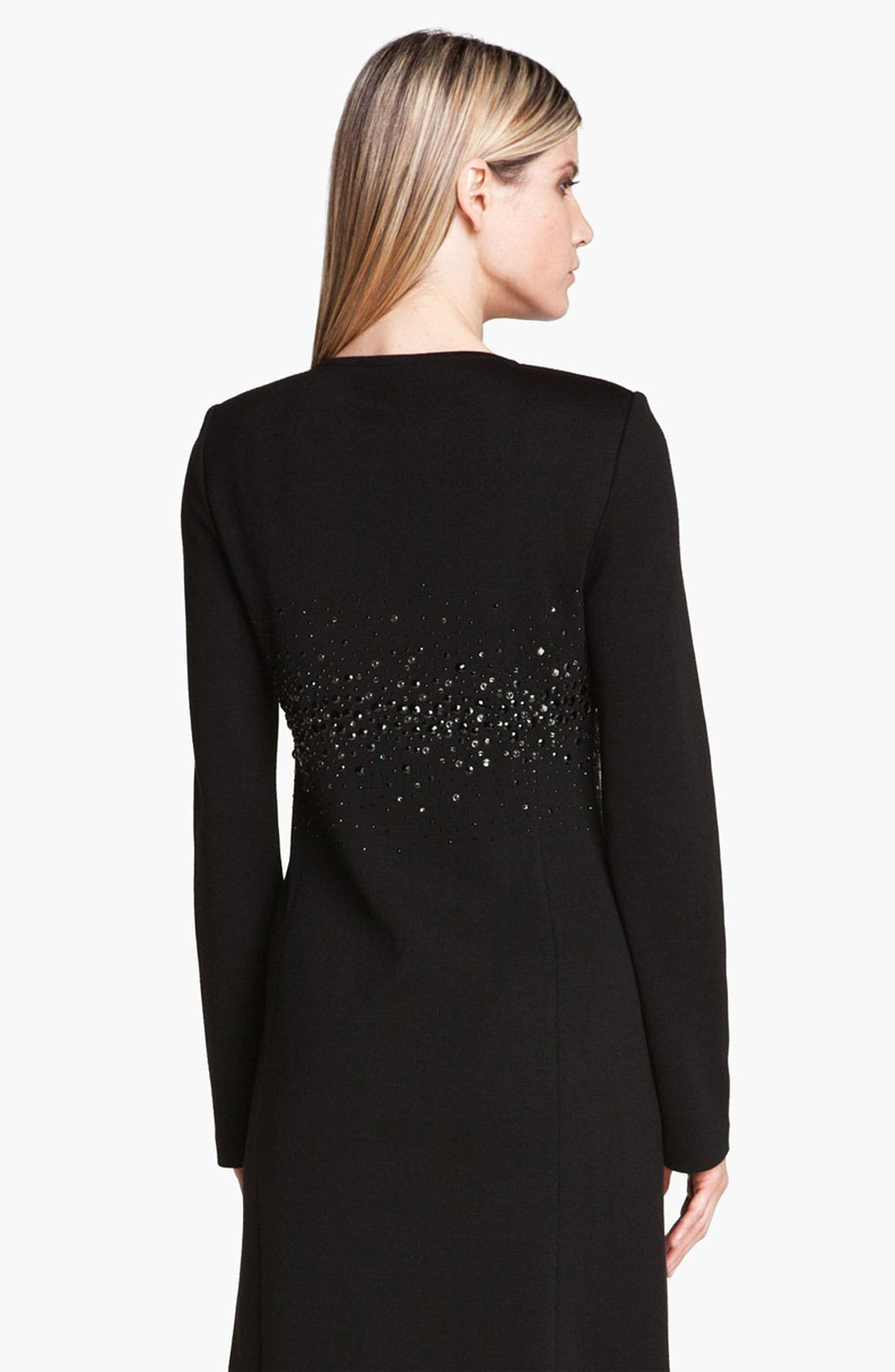 Alternate Image 4  - St. John Collection Sequin Detail Milano Knit Coat