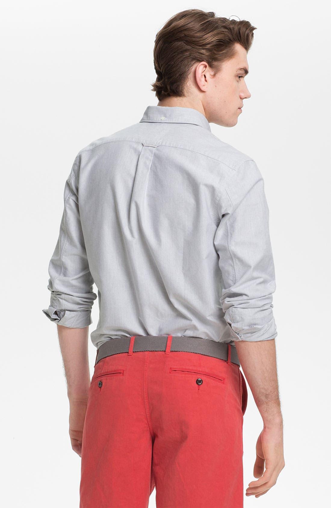 Alternate Image 2  - Todd Snyder Selvedge Oxford Shirt