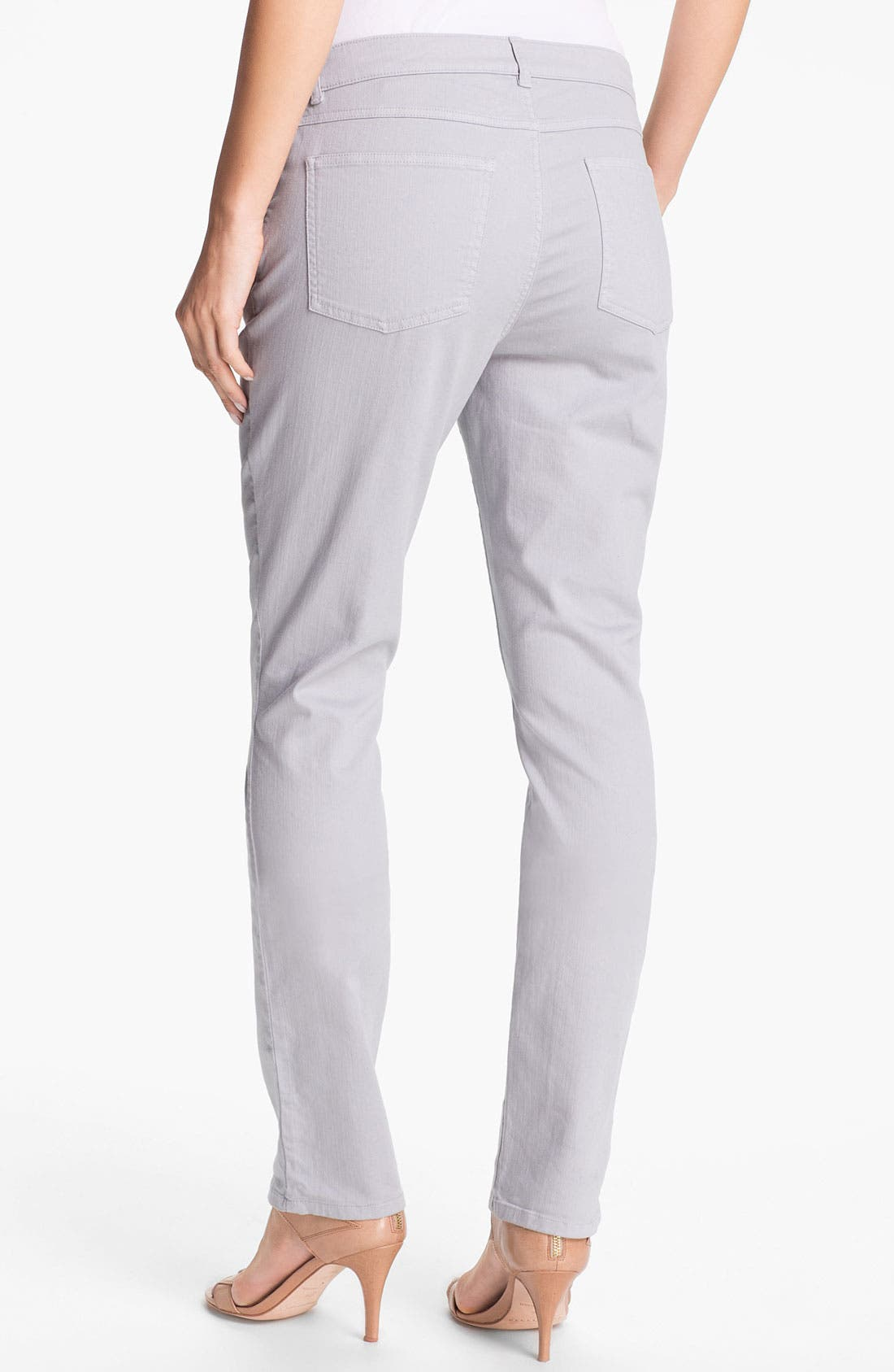 Alternate Image 3  - Eileen Fisher Colored Denim Jeans