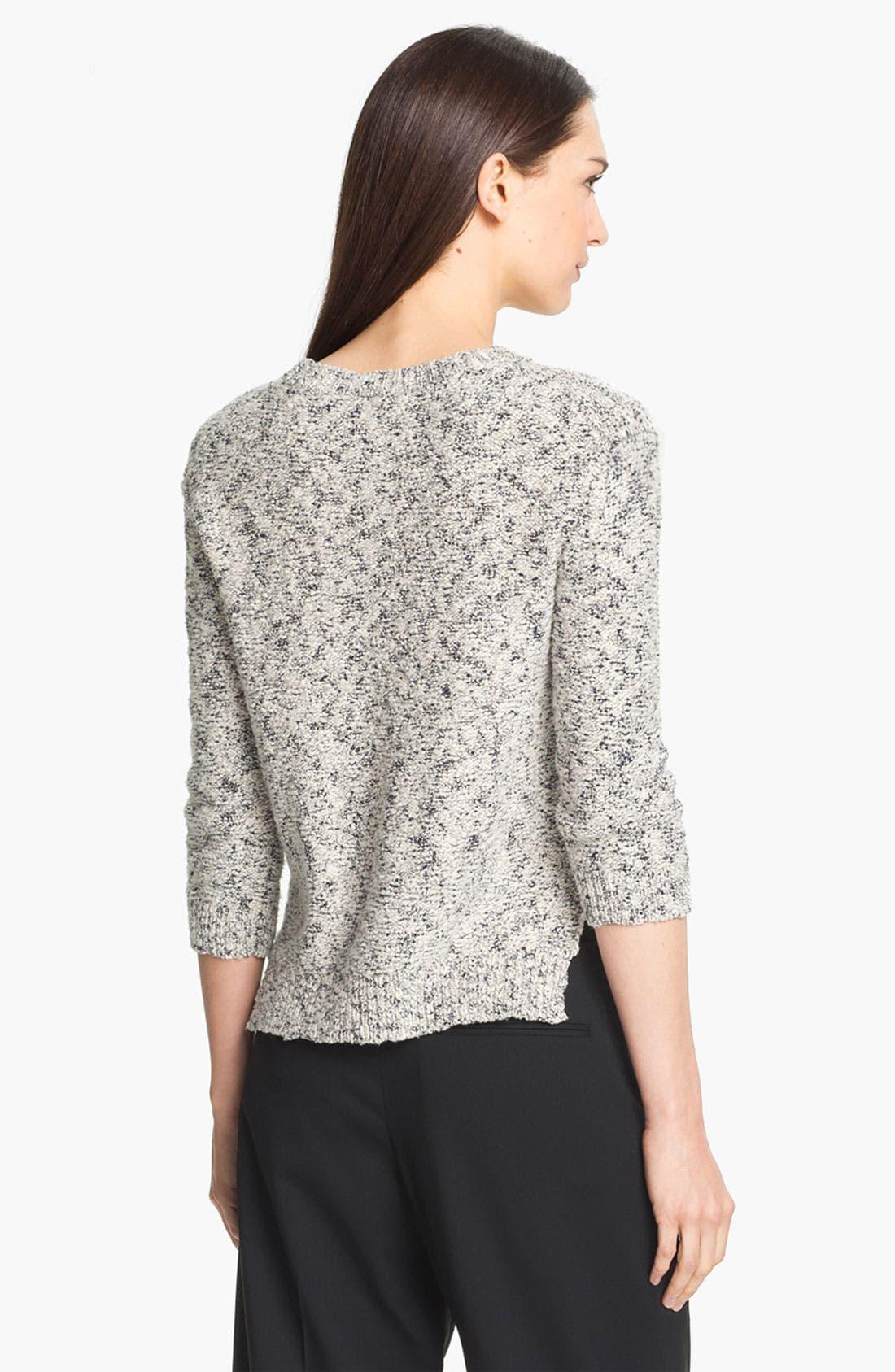 Alternate Image 2  - Theory 'Rainee' Cotton Blend Sweater