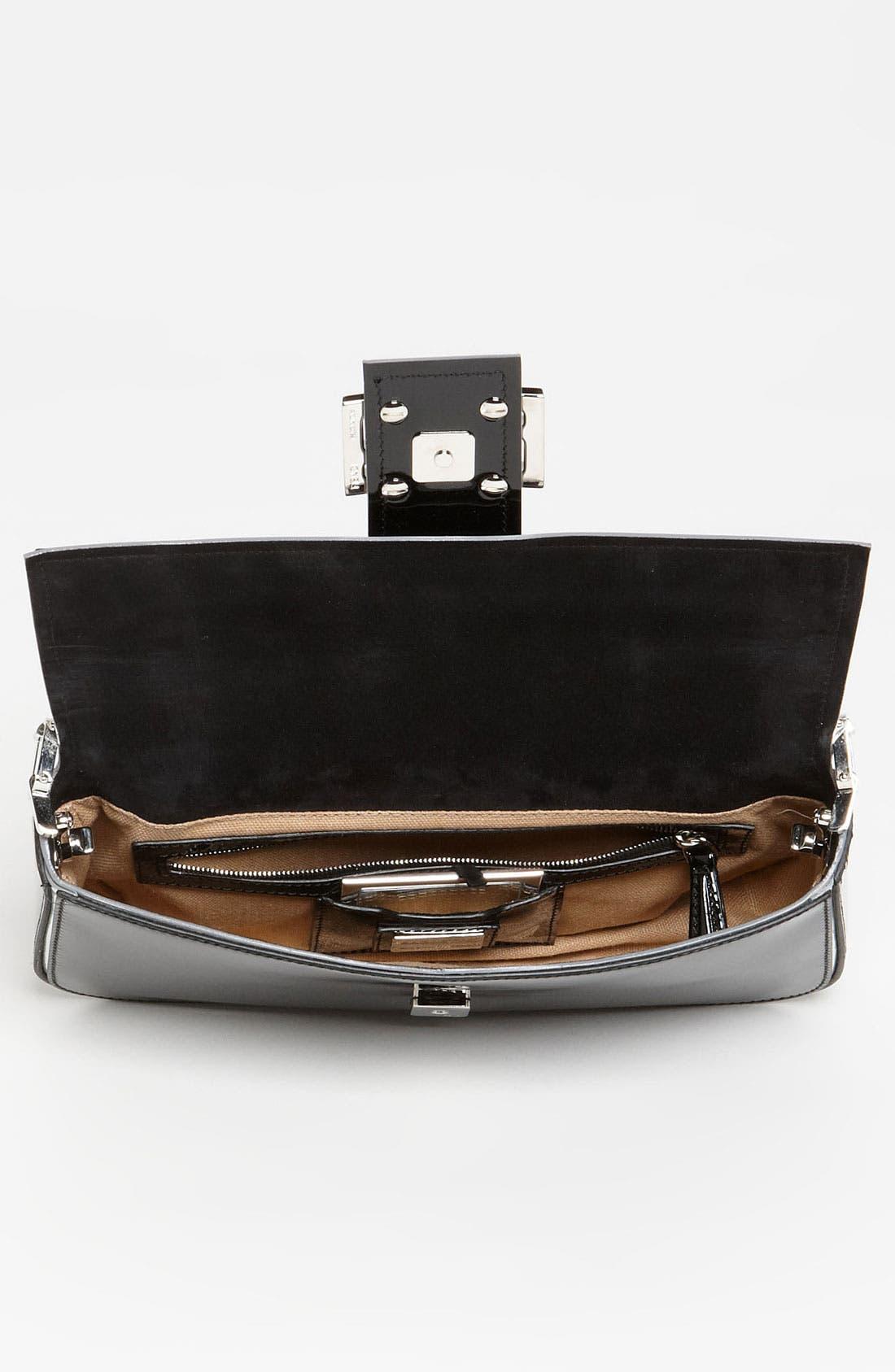 Alternate Image 3  - Fendi Patent Leather Baguette