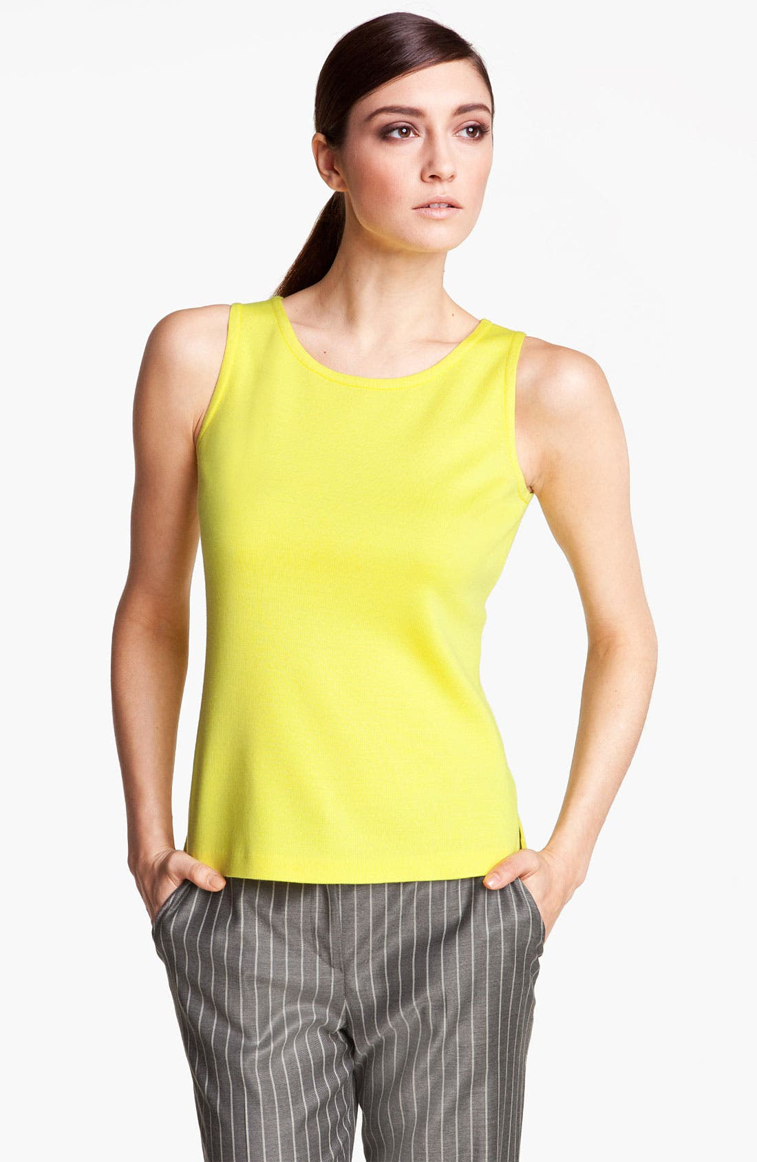 Alternate Image 1 Selected - St. John Collection Milano Knit Top