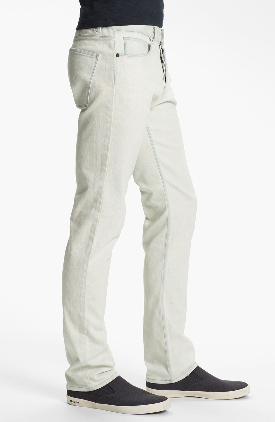Alternate Image 3  - Theory 'Raffi Burliegh' Slim Leg Jeans (Bleached Out)