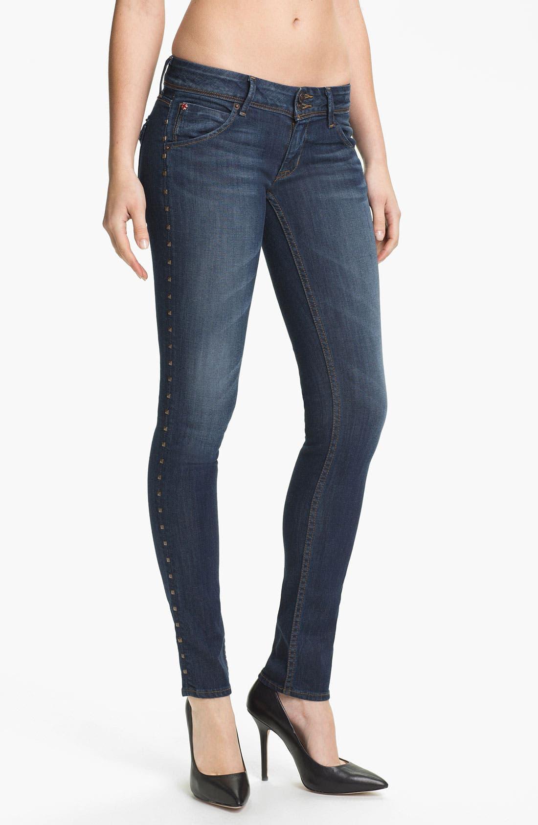 Alternate Image 1 Selected - Hudson Jeans 'Collin' Skinny Stretch Jeans (Bennett)