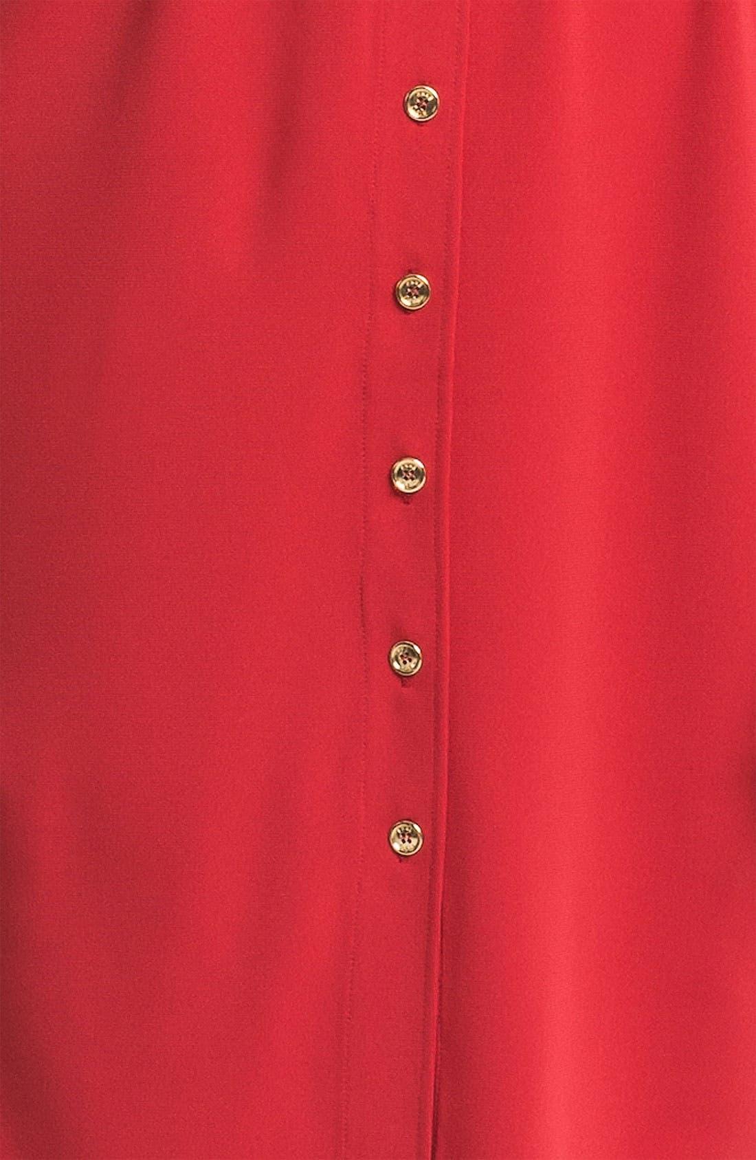 Alternate Image 3  - Anne Klein 'Leo' Roll Sleeve Shirtdress