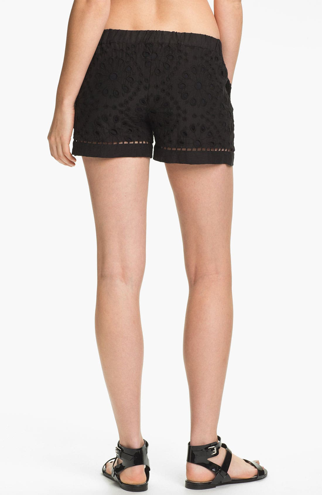 Alternate Image 2  - Ella Moss 'Heidi' Eyelet Lace Shorts
