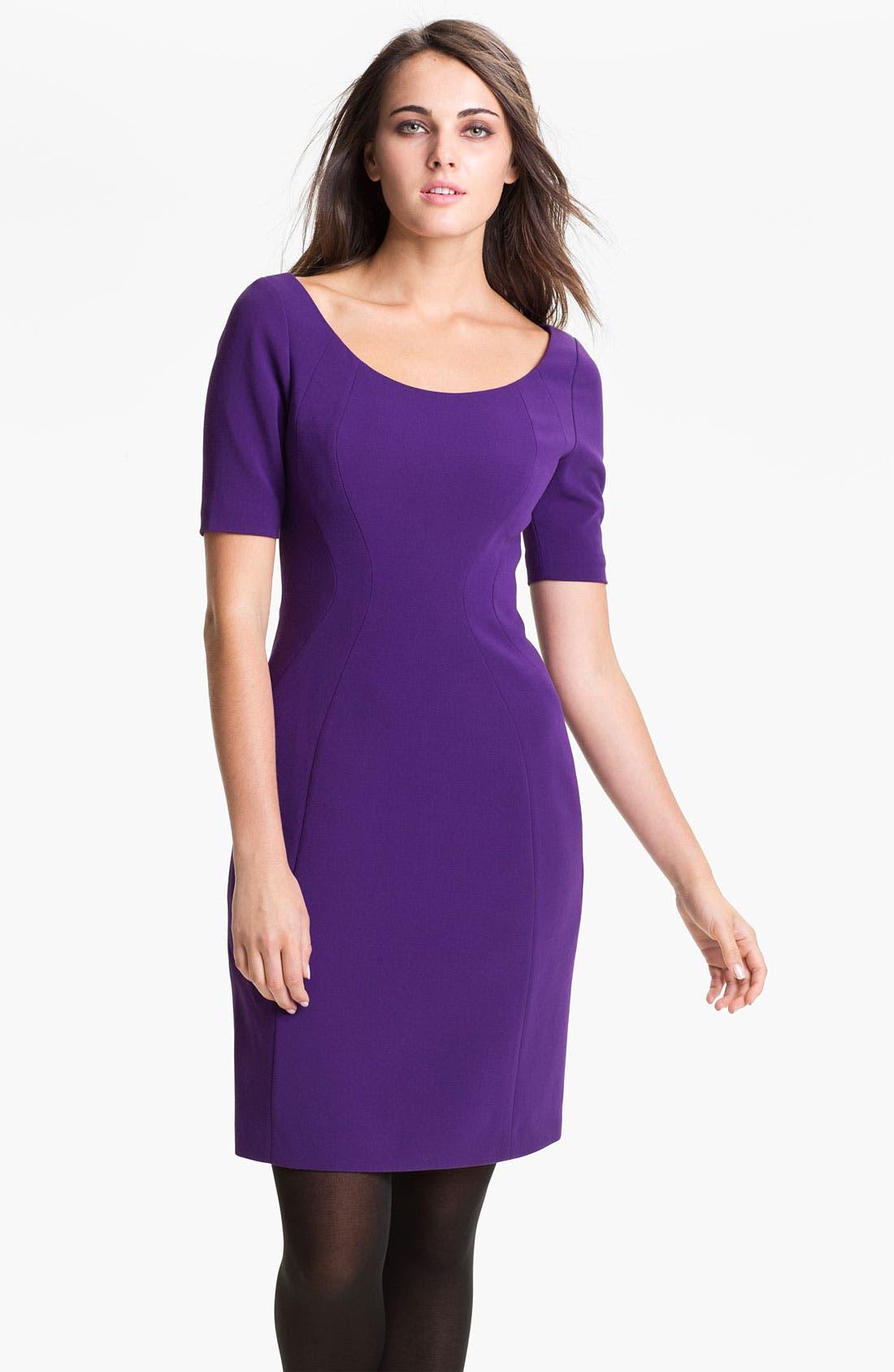 Alternate Image 1 Selected - T Tahari 'Pepita' Dress (Petite)