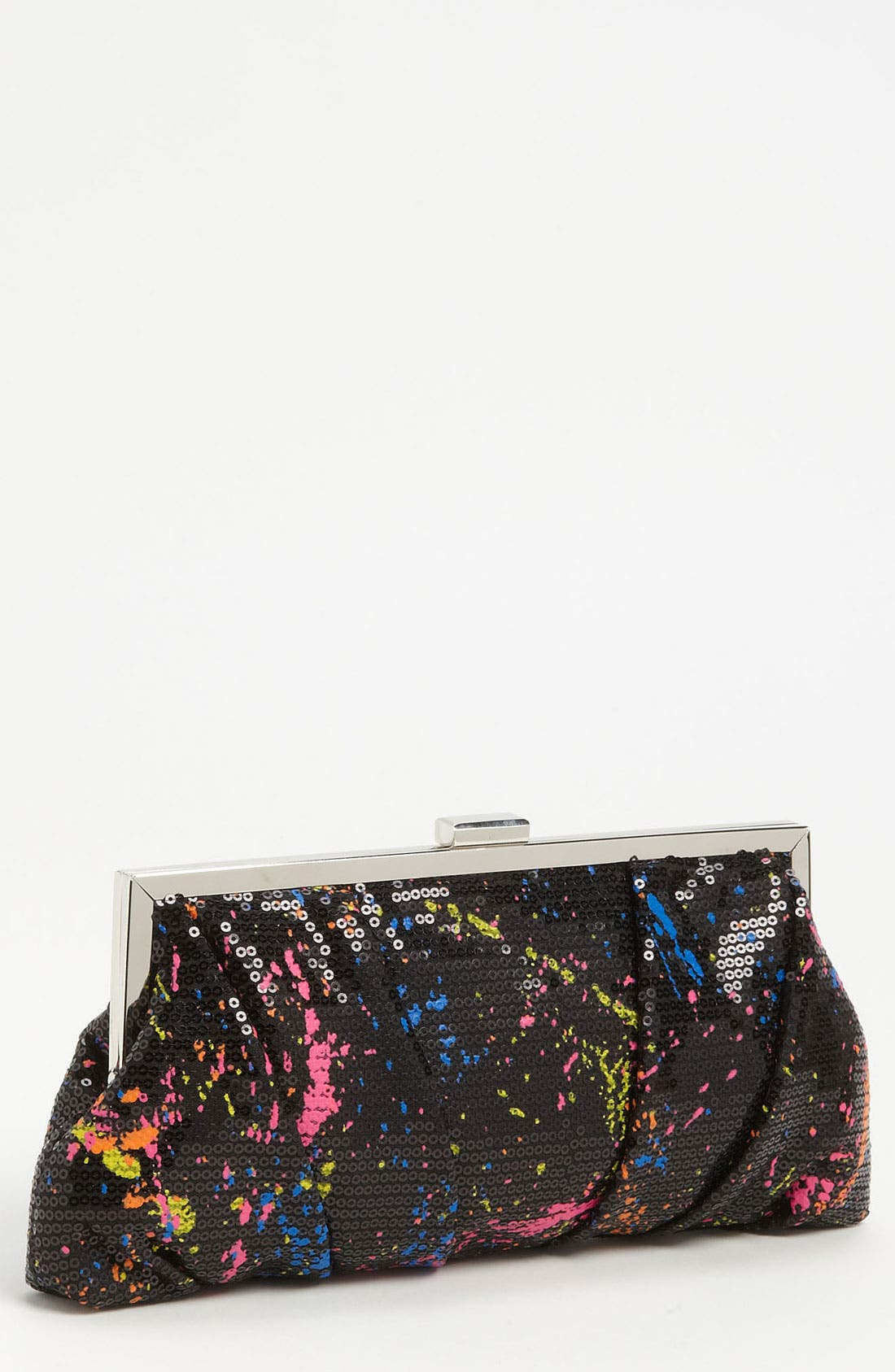 Main Image - Jessica McClintock 'Graffiti' Clutch