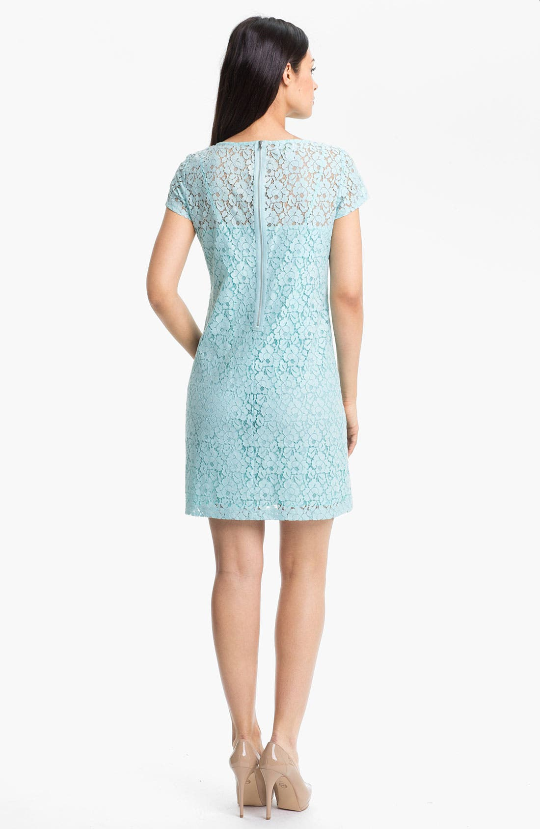 Alternate Image 2  - Donna Morgan Lace Shift Dress