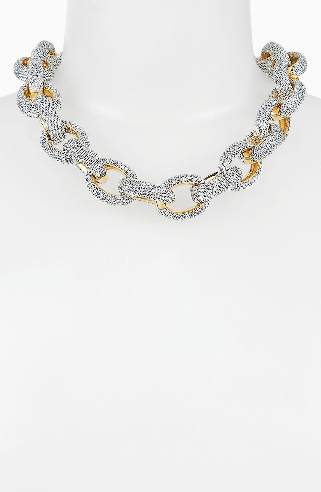 Main Image - Adami & Martucci 'Mesh' Link Collar Necklace (Nordstrom Exclusive)