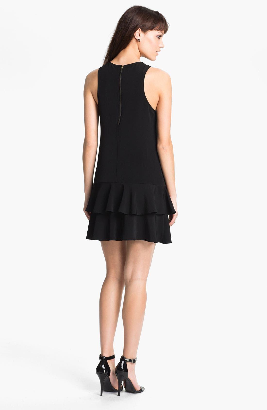 Alternate Image 2  - Tiered Ruffle Shift Dress