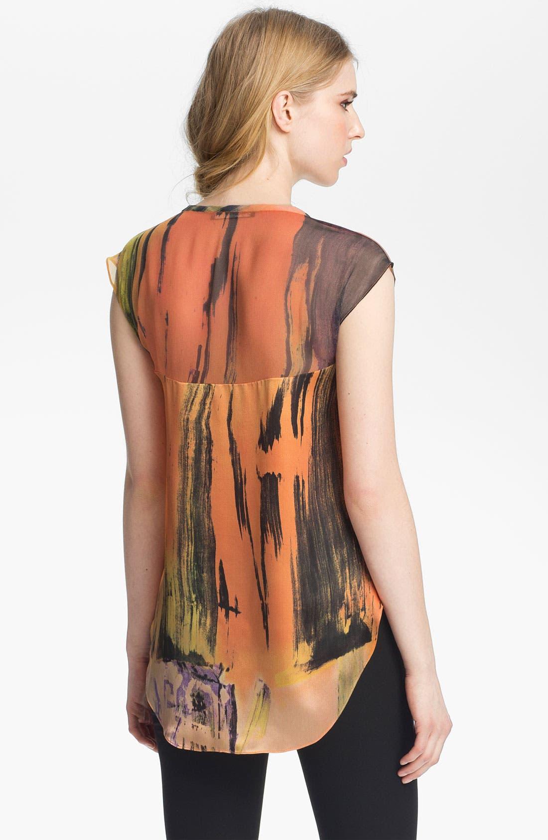Alternate Image 3  - Elizabeth and James 'Kari' Print Silk Top