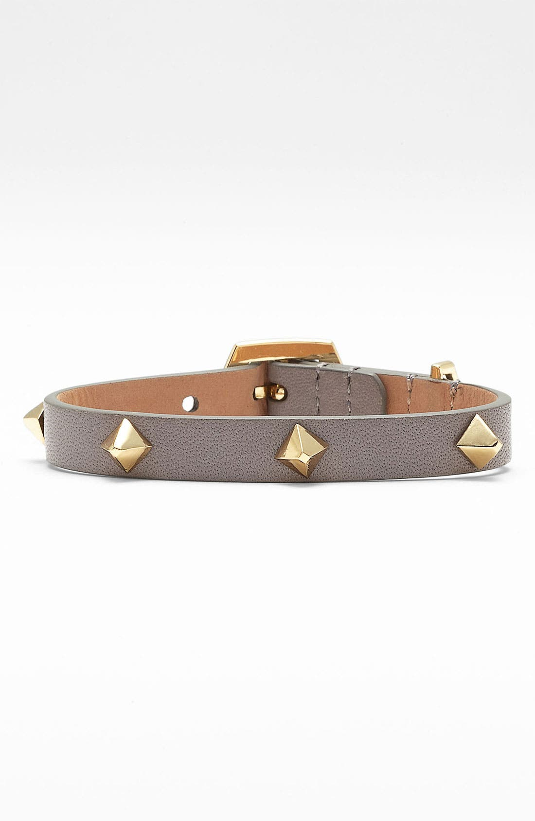 Alternate Image 1 Selected - Vince Camuto 'Marcel' Studded Leather Bracelet