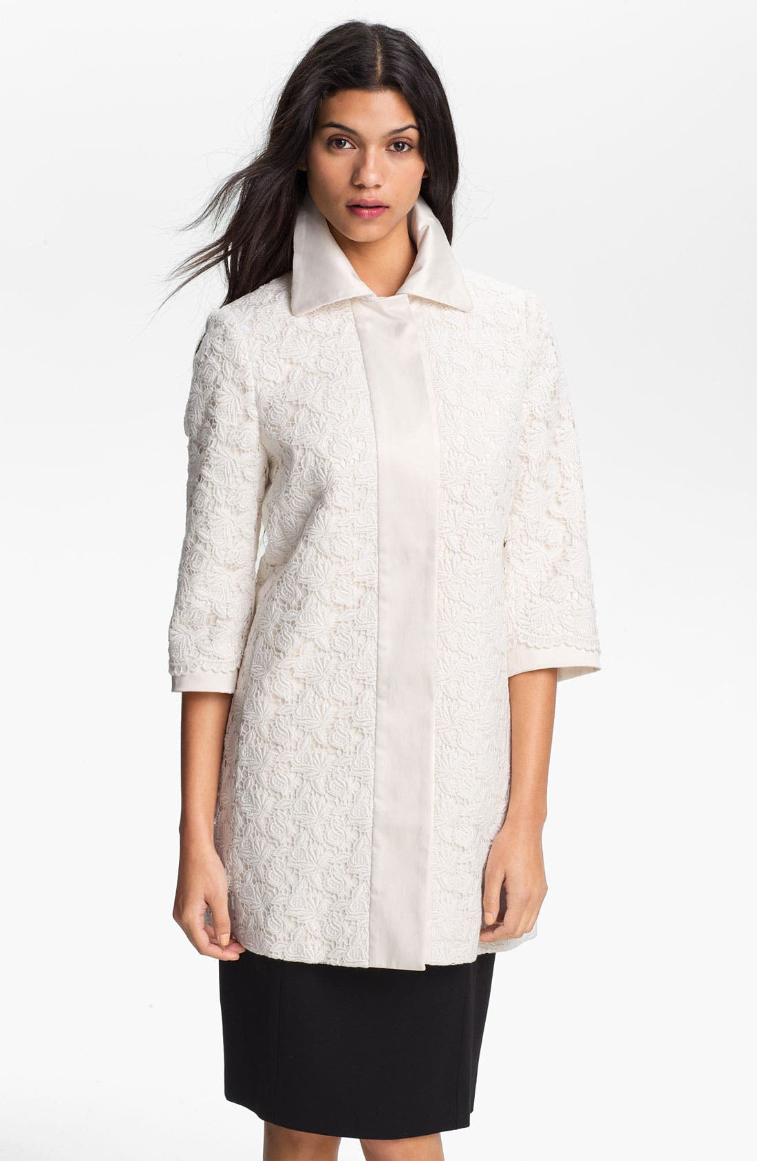Alternate Image 1 Selected - Elie Tahari 'Misty' Lace Topper