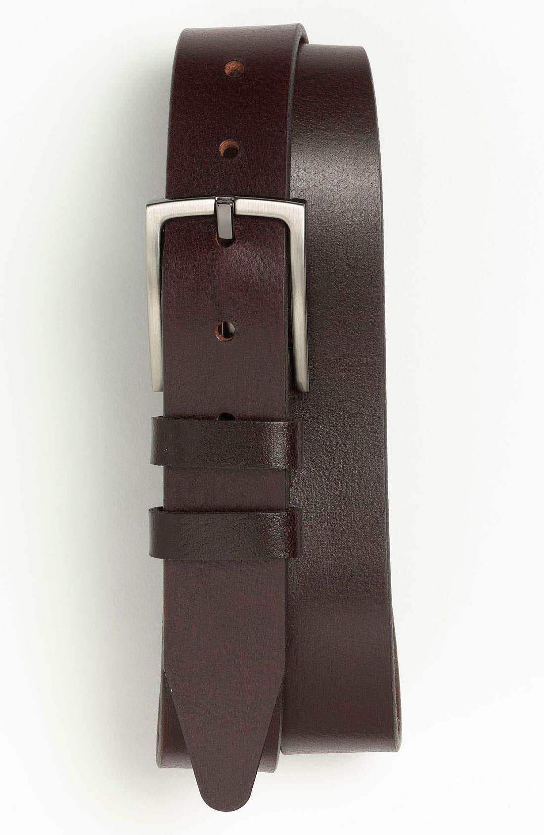 Alternate Image 1 Selected - Nordstrom Leather Belt