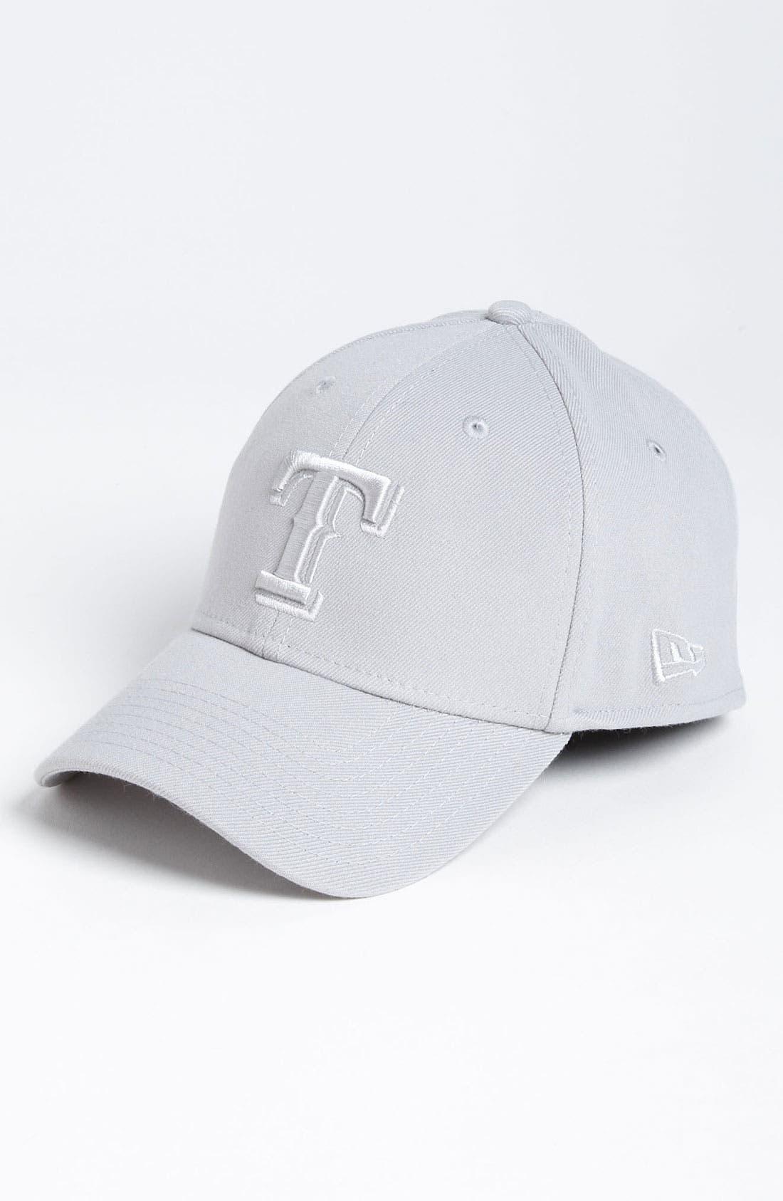 Main Image - New Era Cap 'Texas Rangers - Tonal Classic' Fitted Baseball Cap