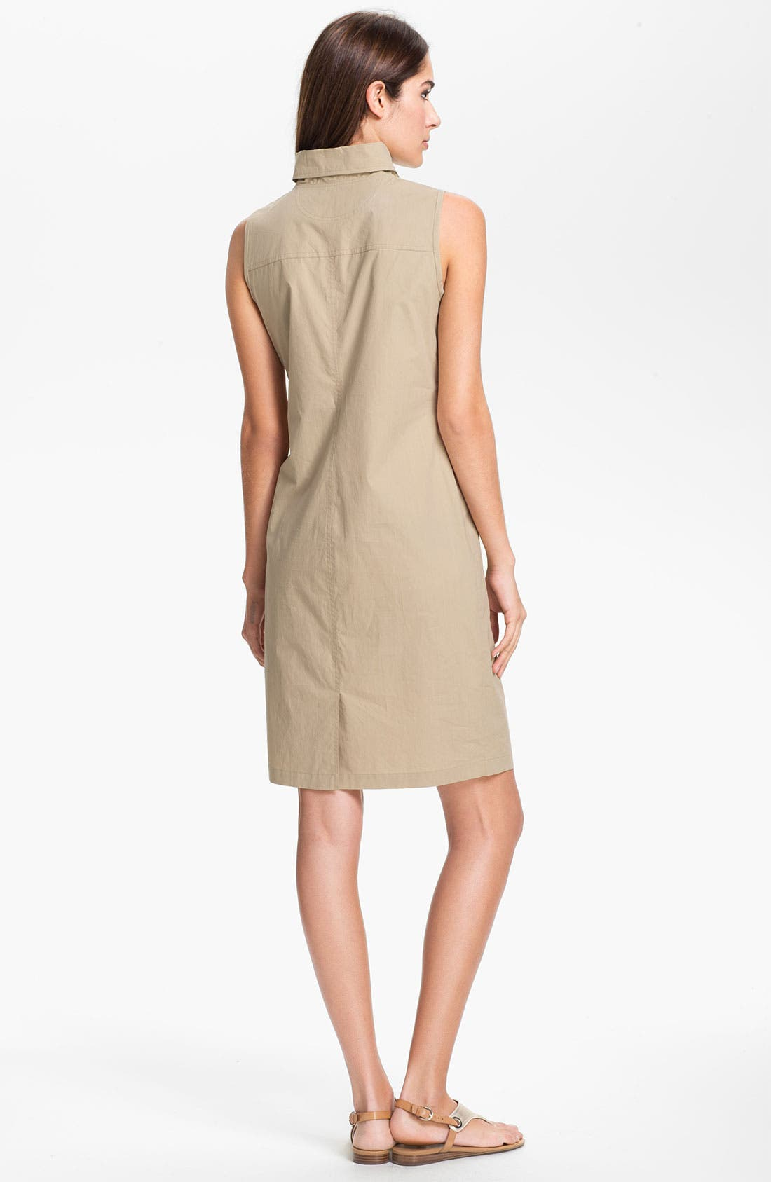 Alternate Image 2  - Lafayette 148 New York Zip Front Dress