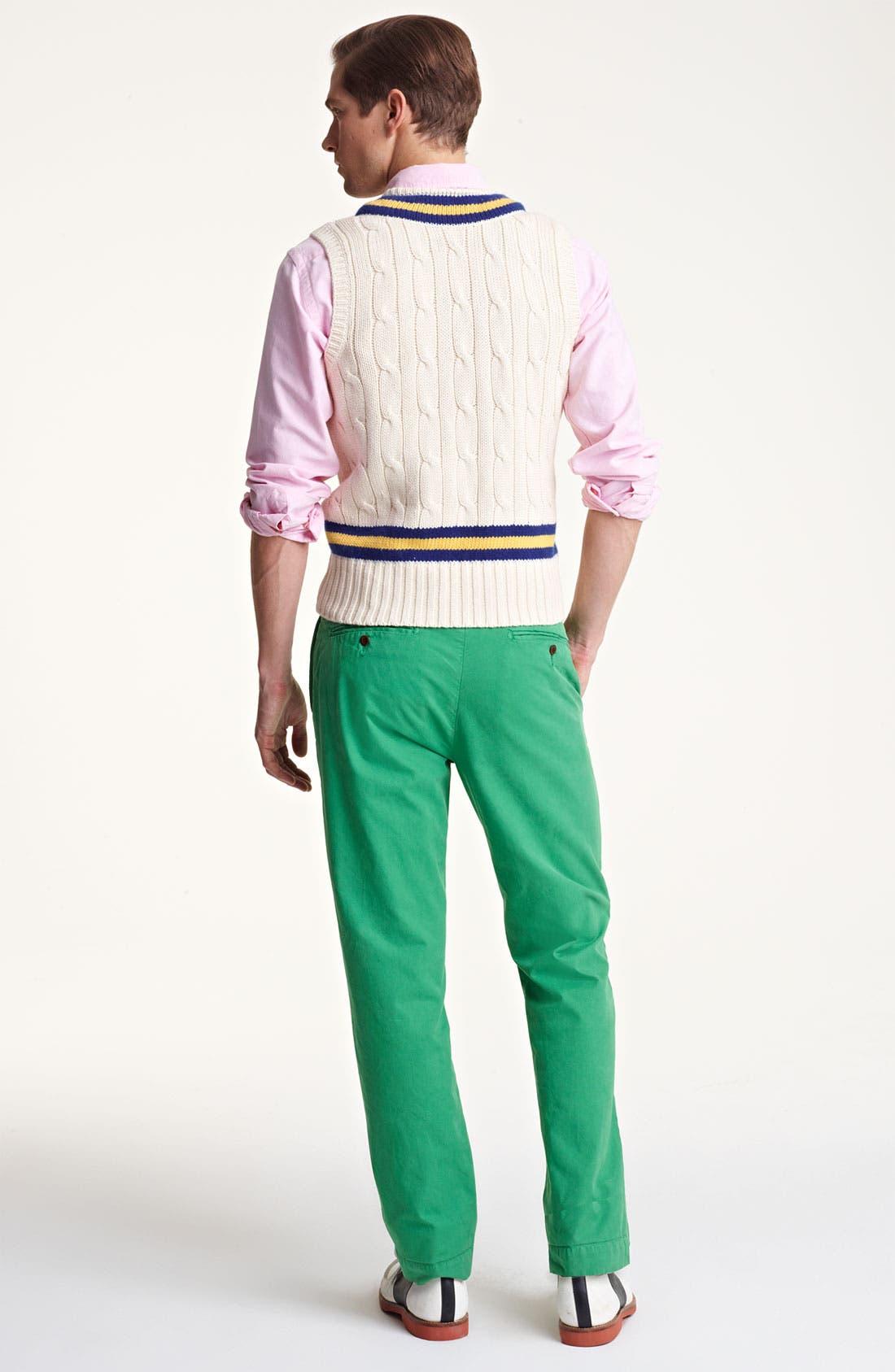 Alternate Image 5  - Polo Ralph Lauren V-Neck Sweater Vest